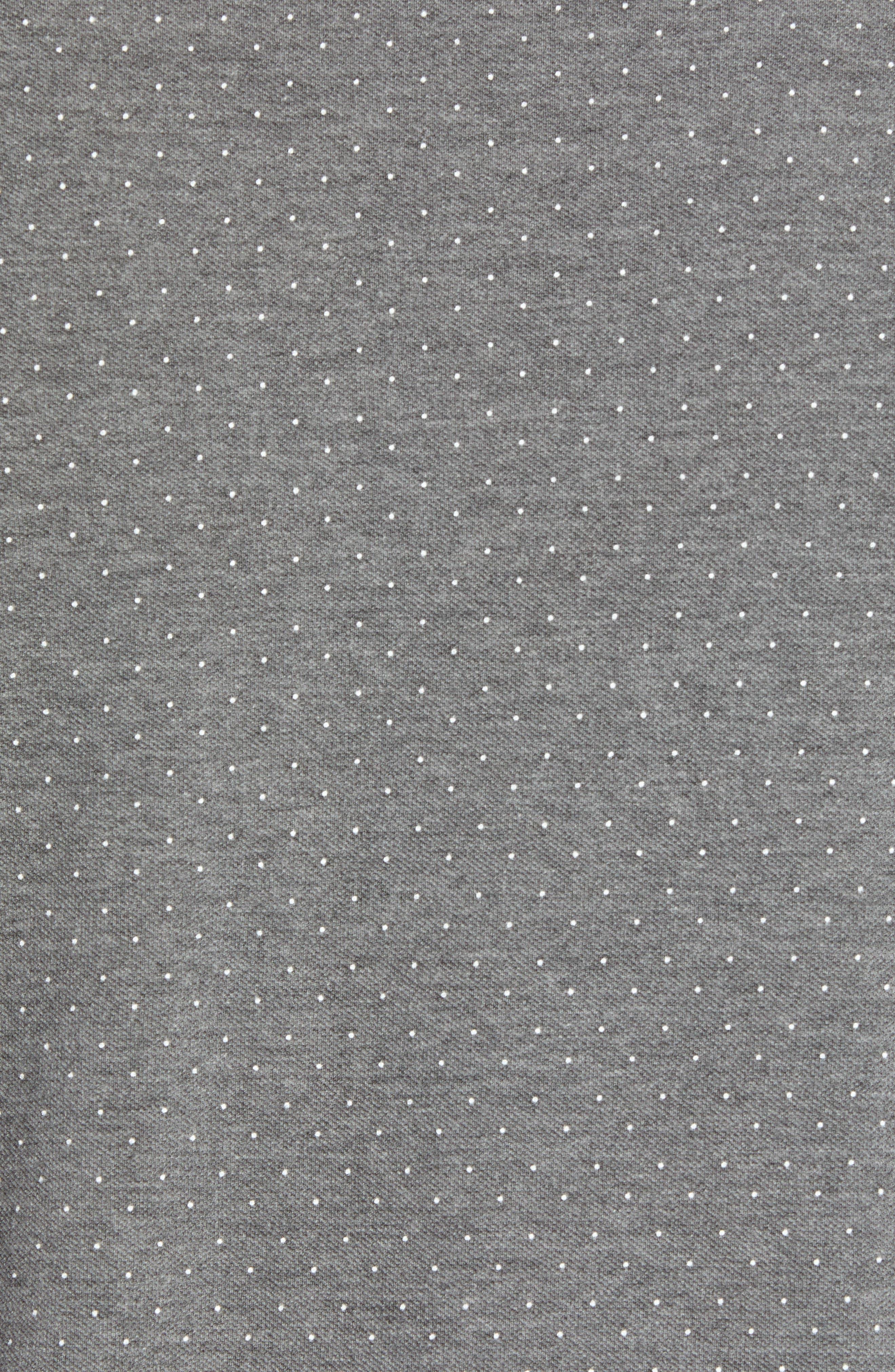 Glaad Trim Fit Mini Spot T-Shirt,                             Alternate thumbnail 5, color,                             GREY MARL