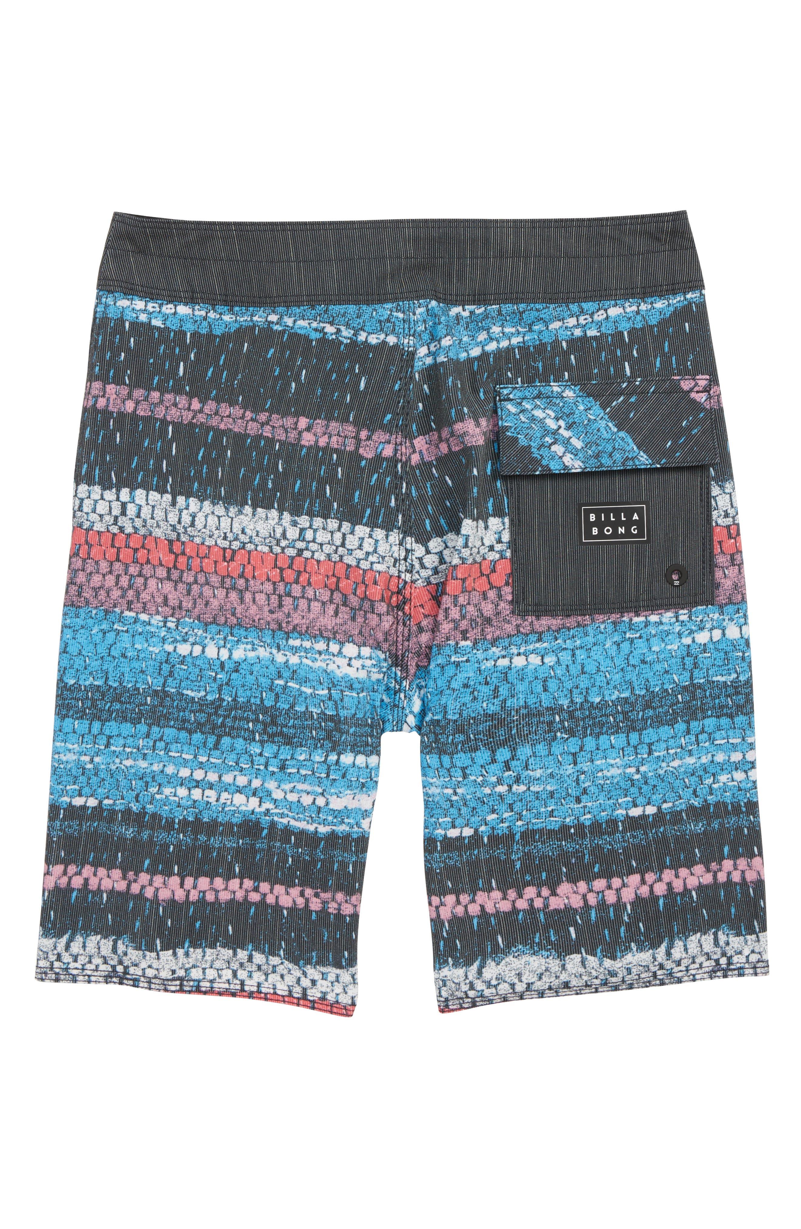 Sundays X Board Shorts,                             Alternate thumbnail 2, color,                             BLUE STRIPE