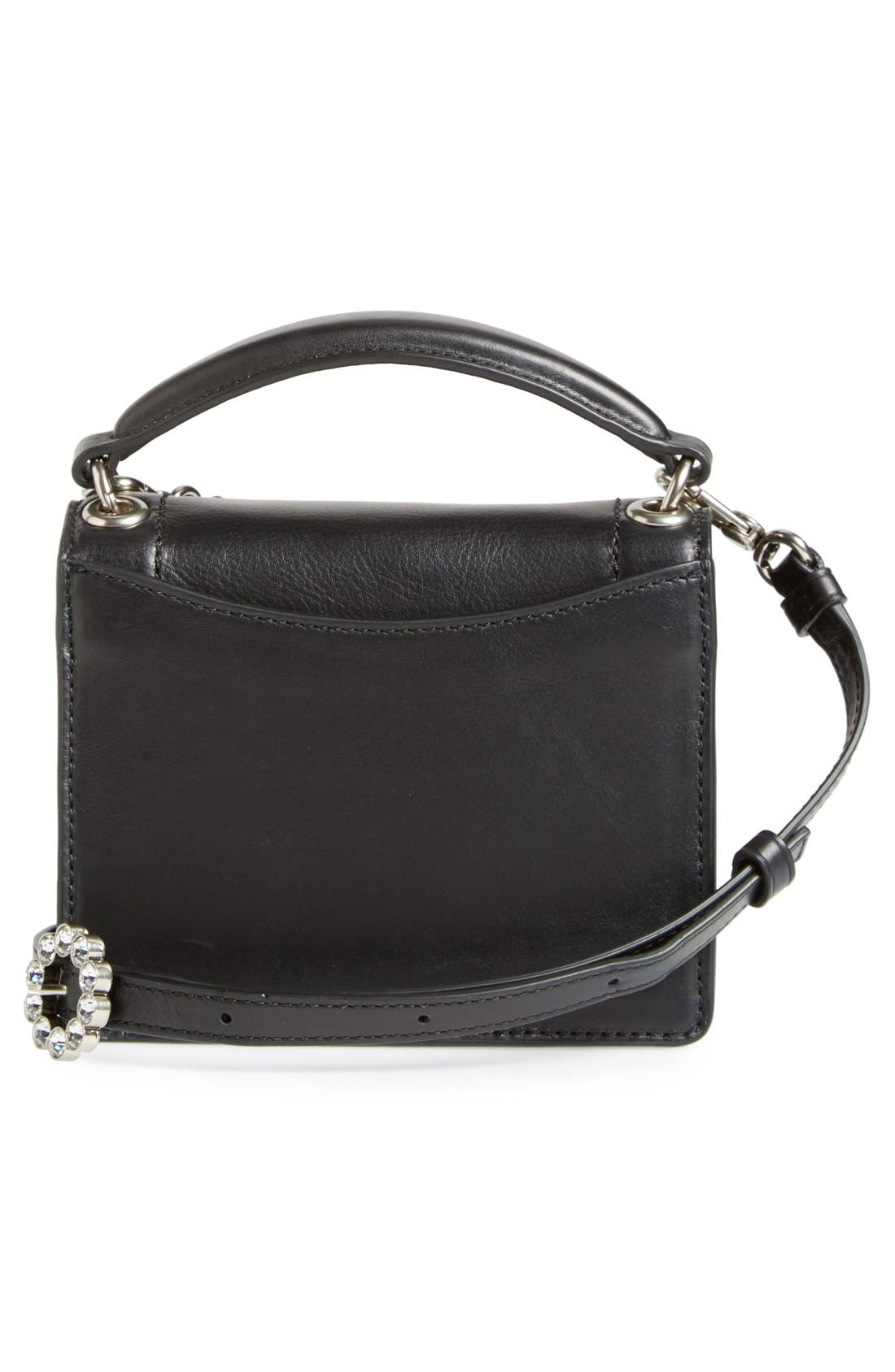 MARC JACOBS,                             MARC BY MARC JACOBS 'The Box' Crossbody Bag,                             Alternate thumbnail 3, color,                             001