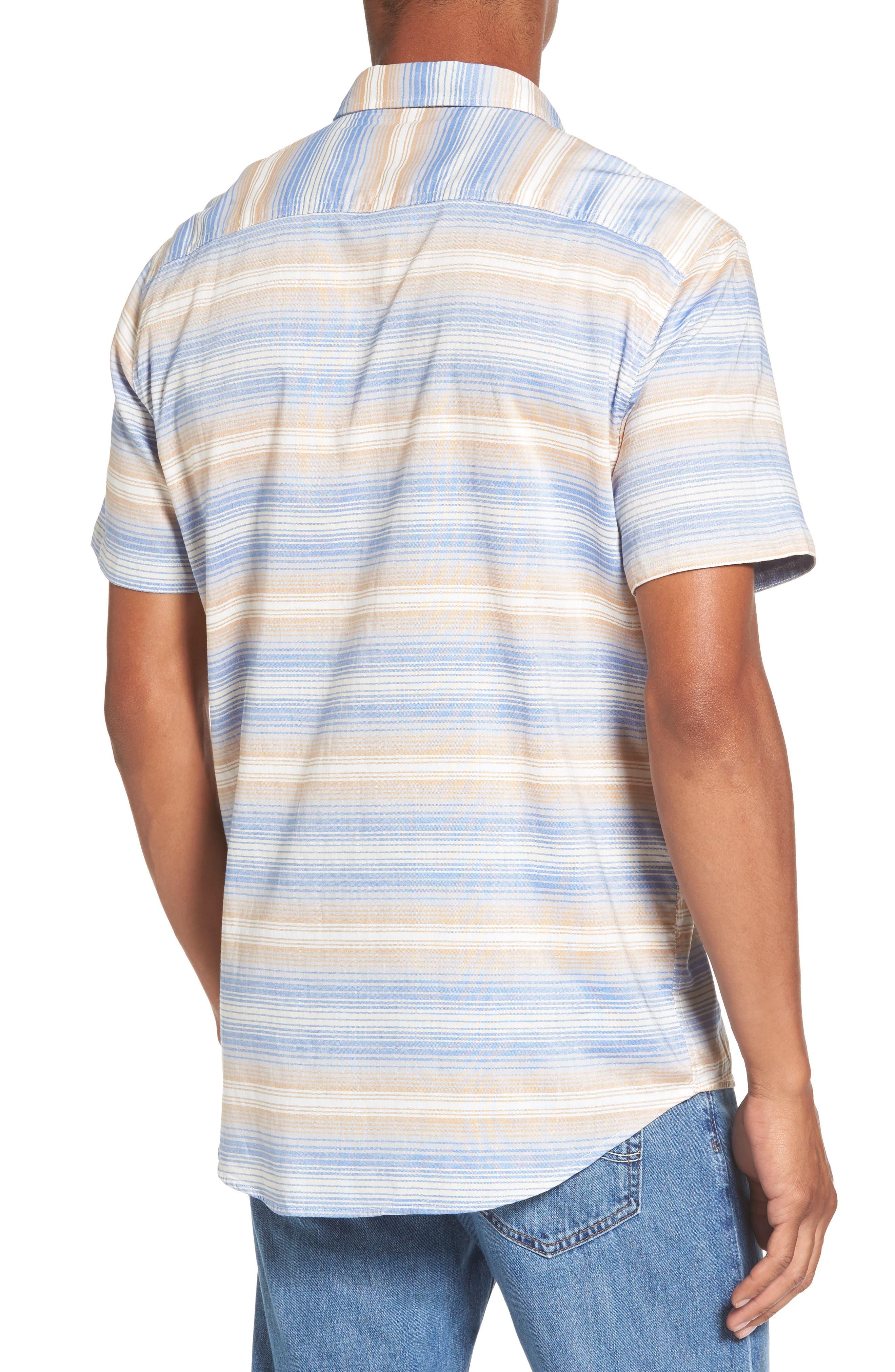 Aventail Stripe Shirt,                             Alternate thumbnail 4, color,