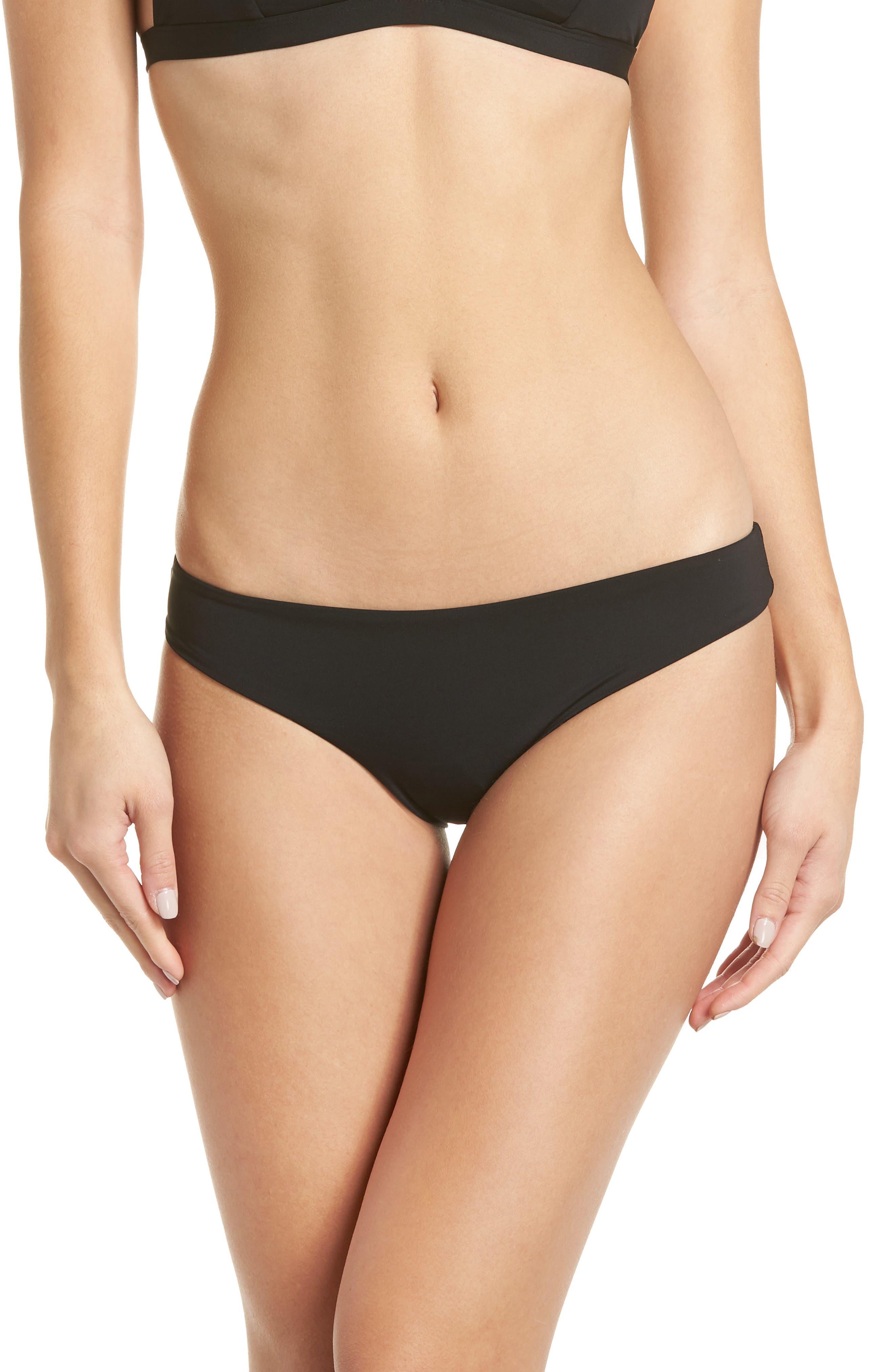 Onia Lily Bikini Bottoms, Black