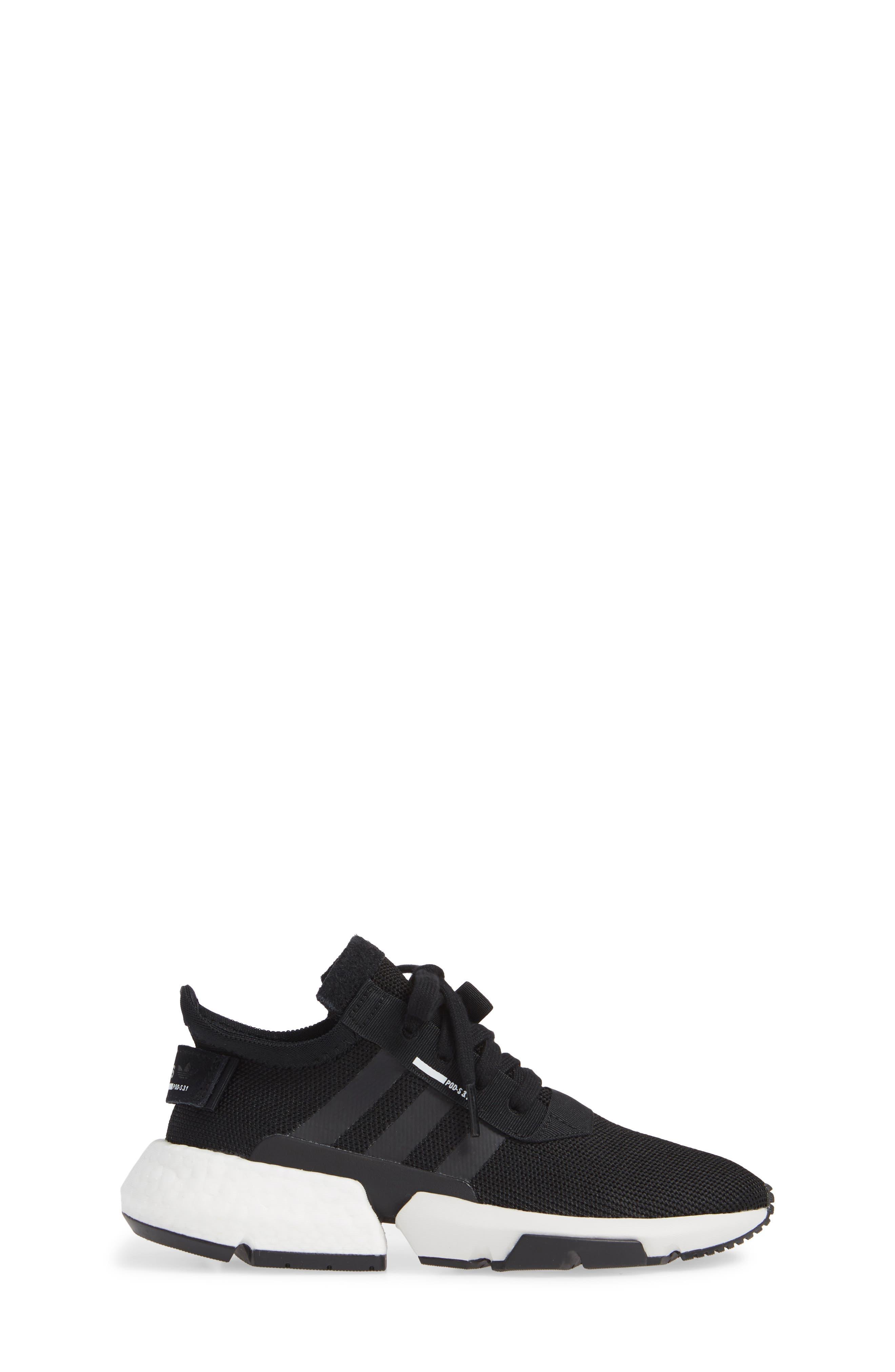 POD-S3.1 Sneaker,                             Alternate thumbnail 3, color,                             CORE BLACK/ BLACK/ LEGEND IVY