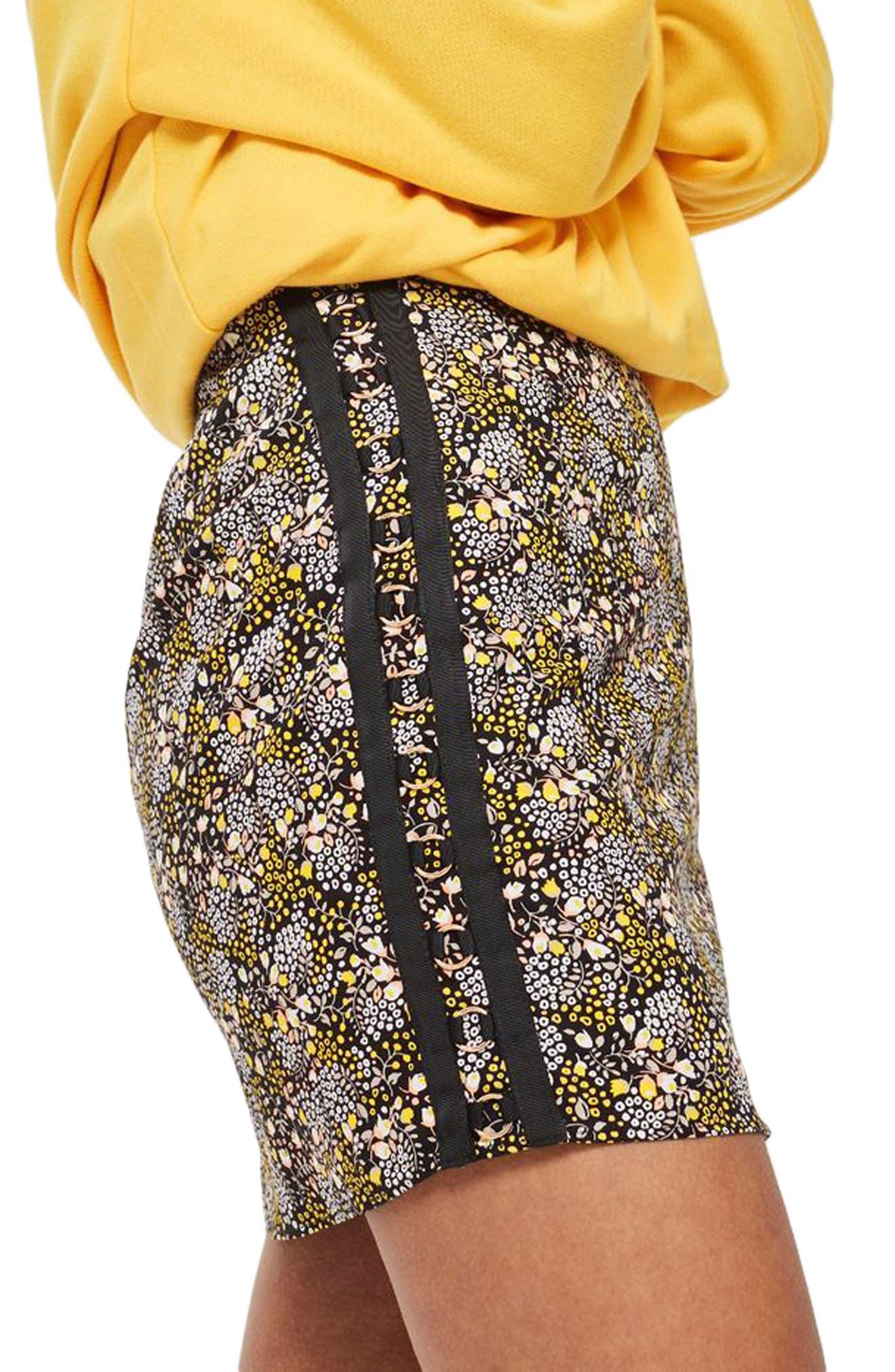 Ring Detail Miniskirt,                             Alternate thumbnail 3, color,