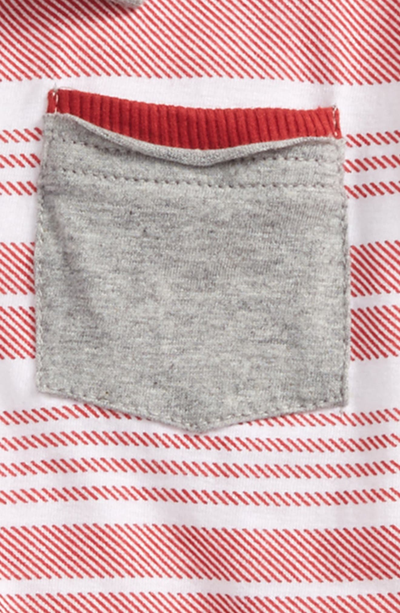 Faux Twill Organic Cotton Polo,                             Alternate thumbnail 2, color,                             622
