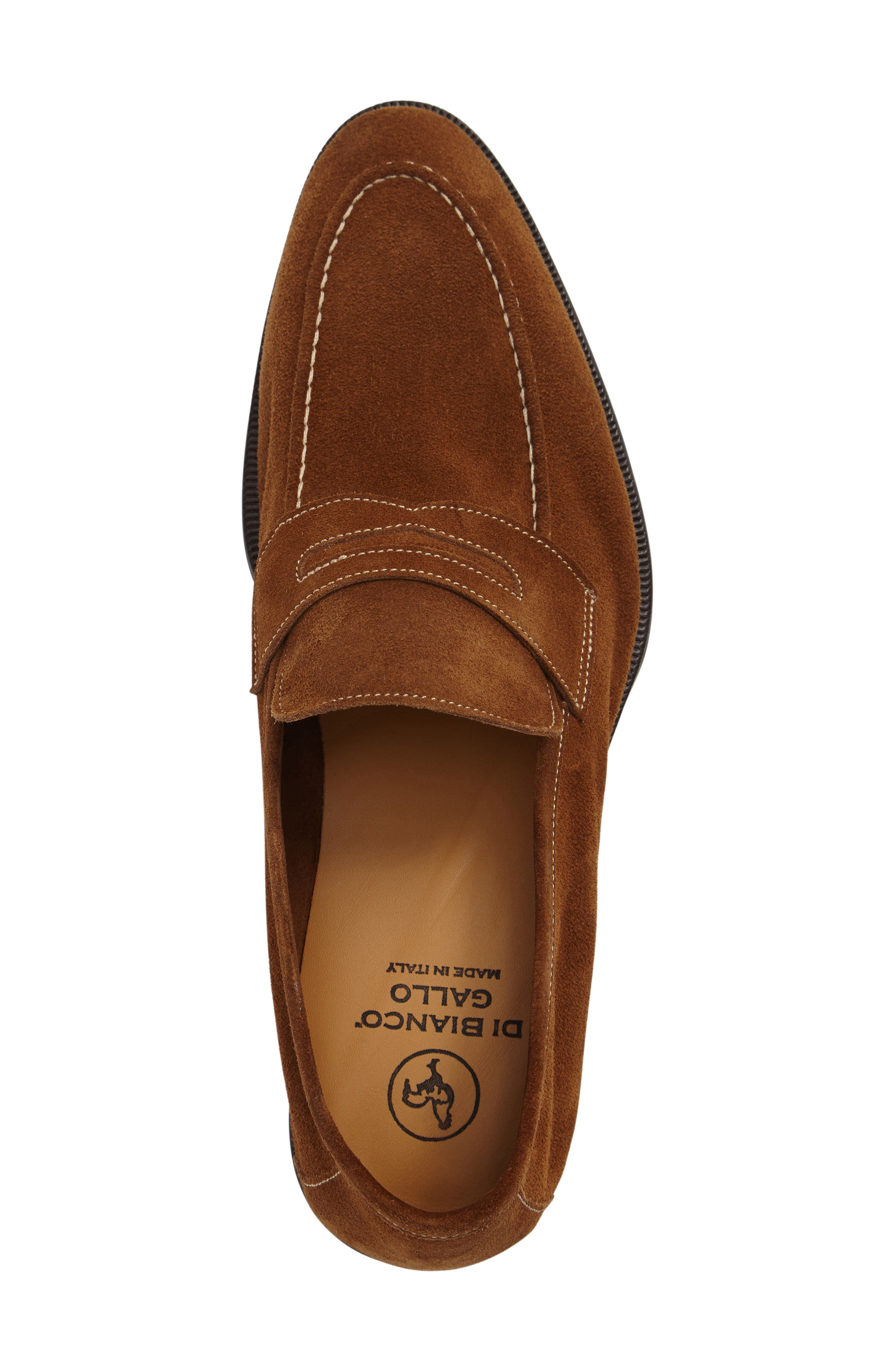 Leather Penny Loafer,                             Alternate thumbnail 12, color,