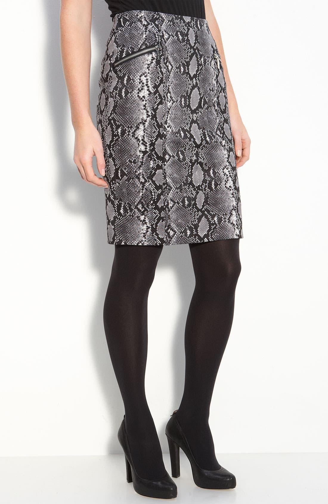 Python Print Skirt,                             Main thumbnail 1, color,                             033