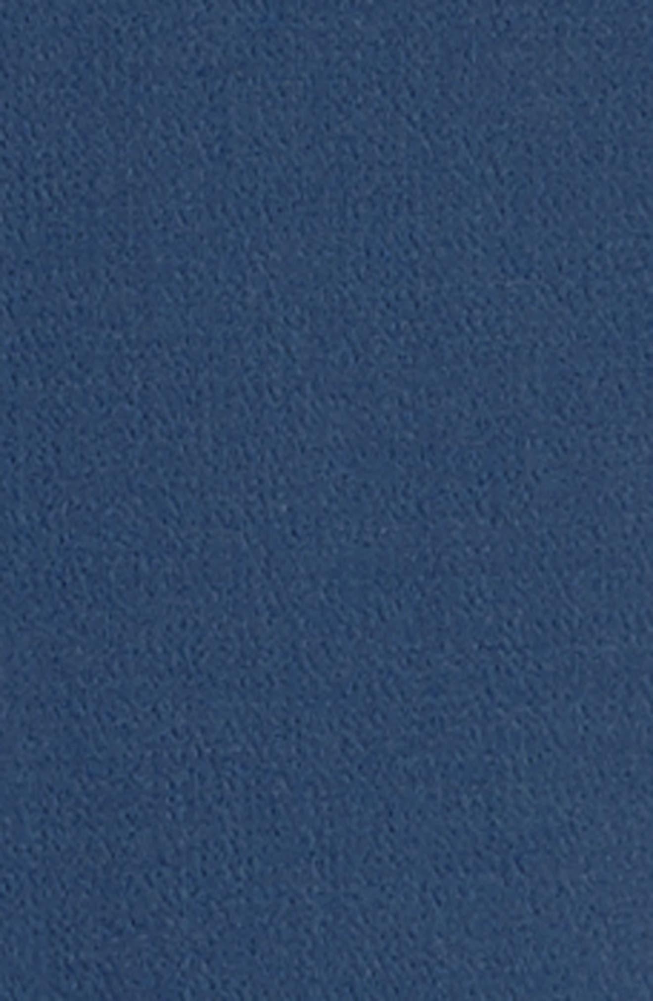 Double Face Wool Crepe Sheath Dress,                             Alternate thumbnail 6, color,                             478