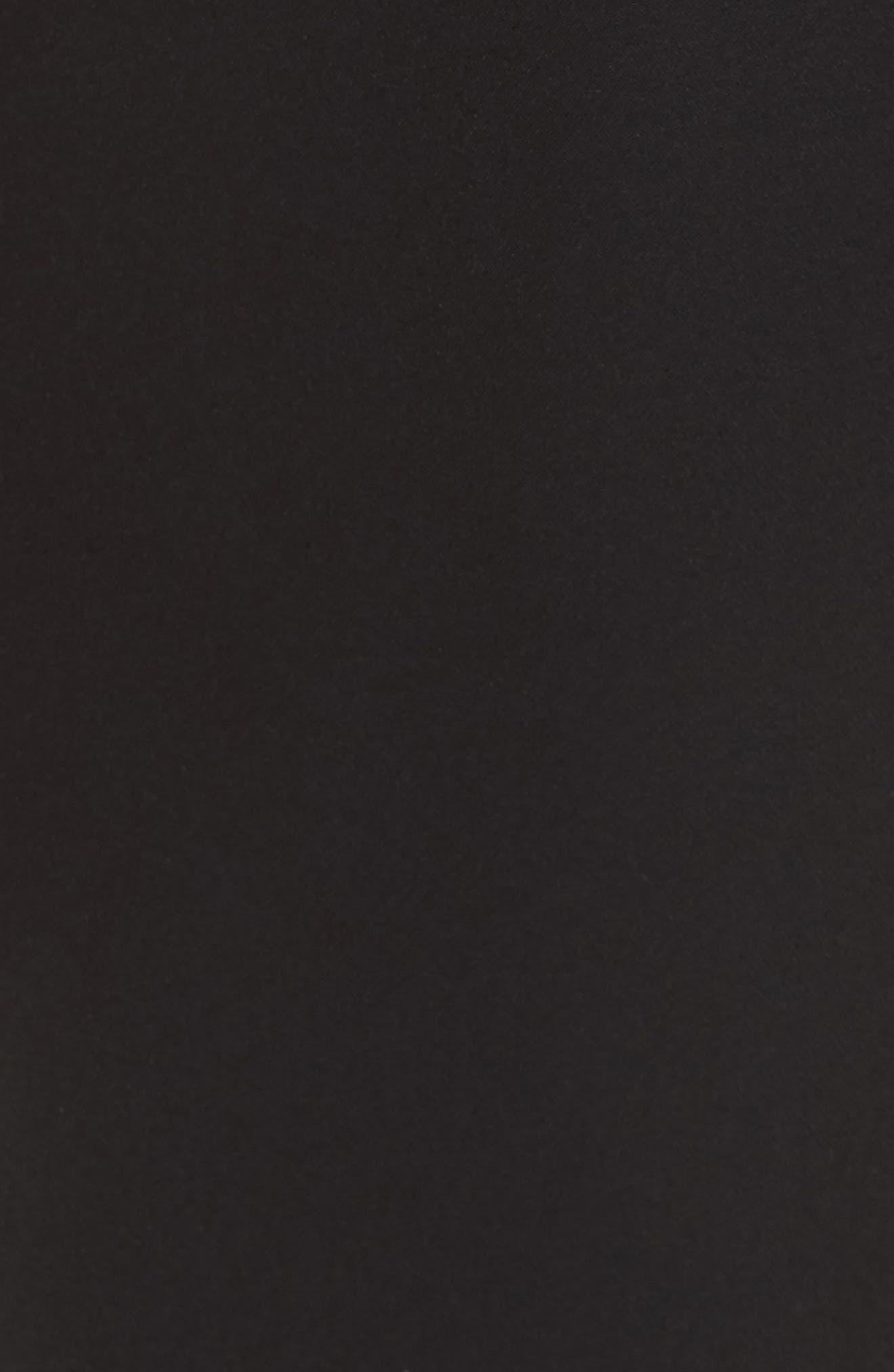 Embellished Belt Peplum Jumpsuit,                             Alternate thumbnail 5, color,                             001