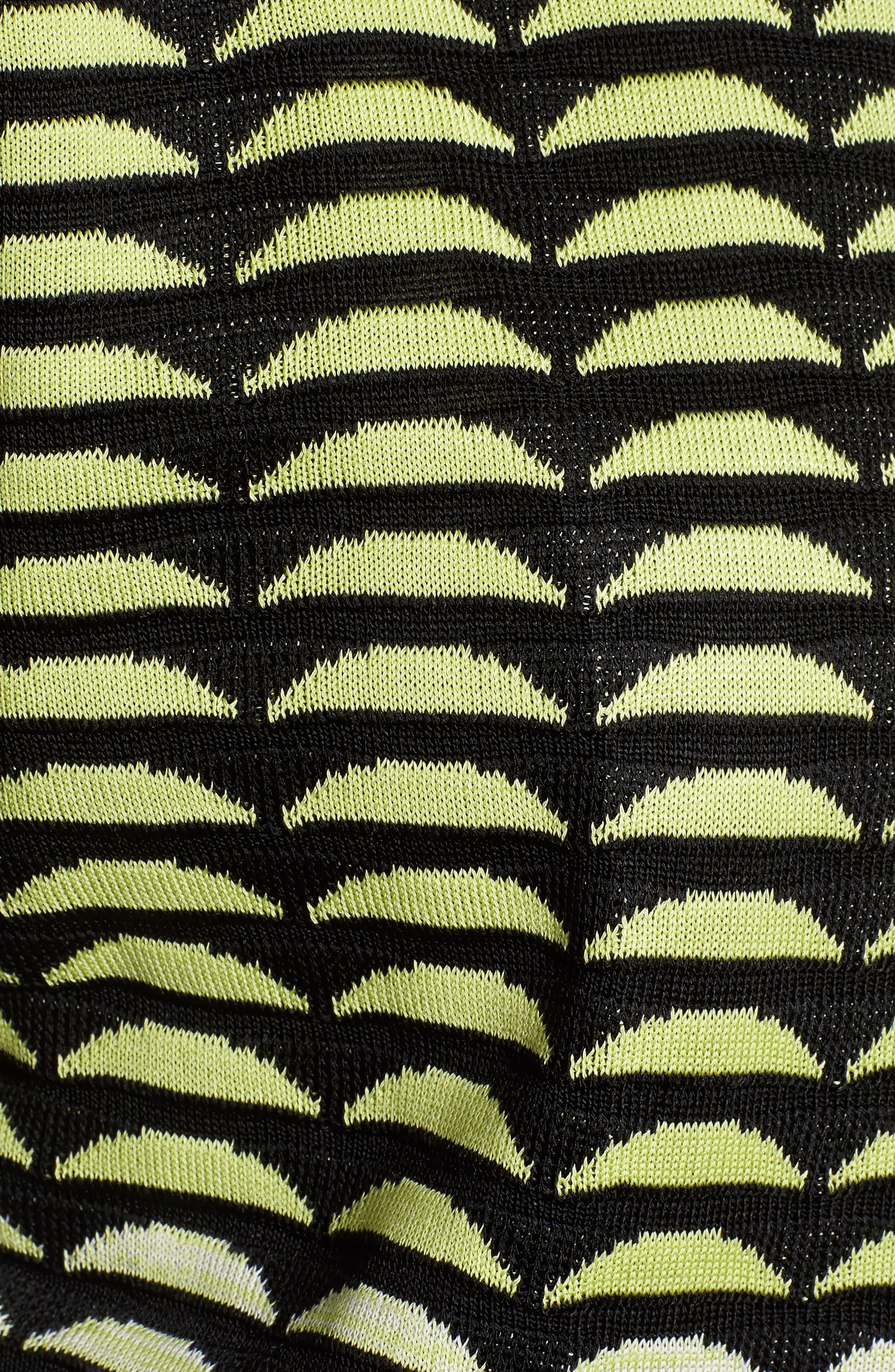 Ombré Jacquard Knit Jacket,                             Alternate thumbnail 6, color,                             727