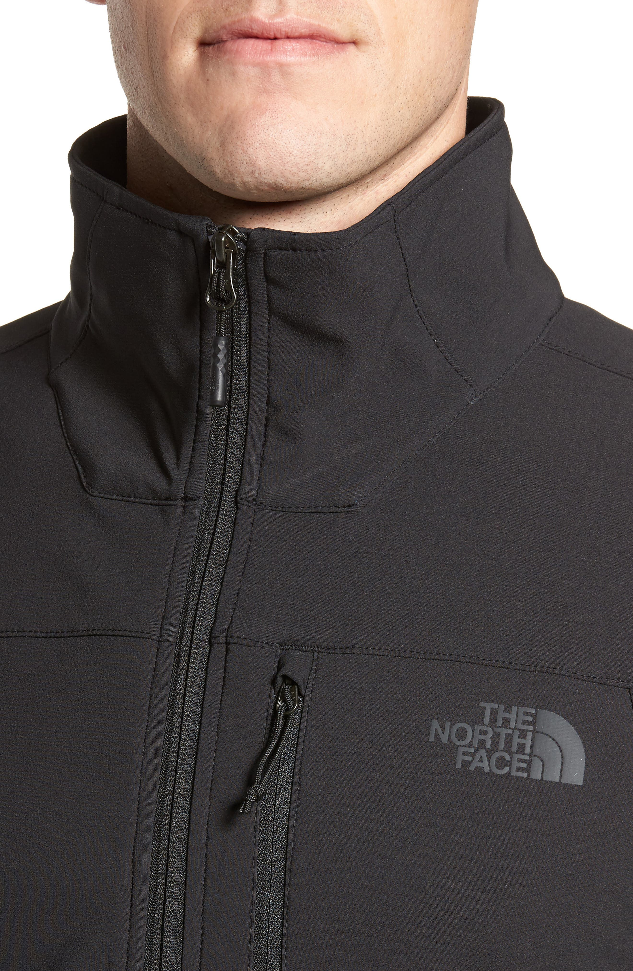 Apex Nimble Jacket,                             Alternate thumbnail 4, color,                             BLACK/ BLACK