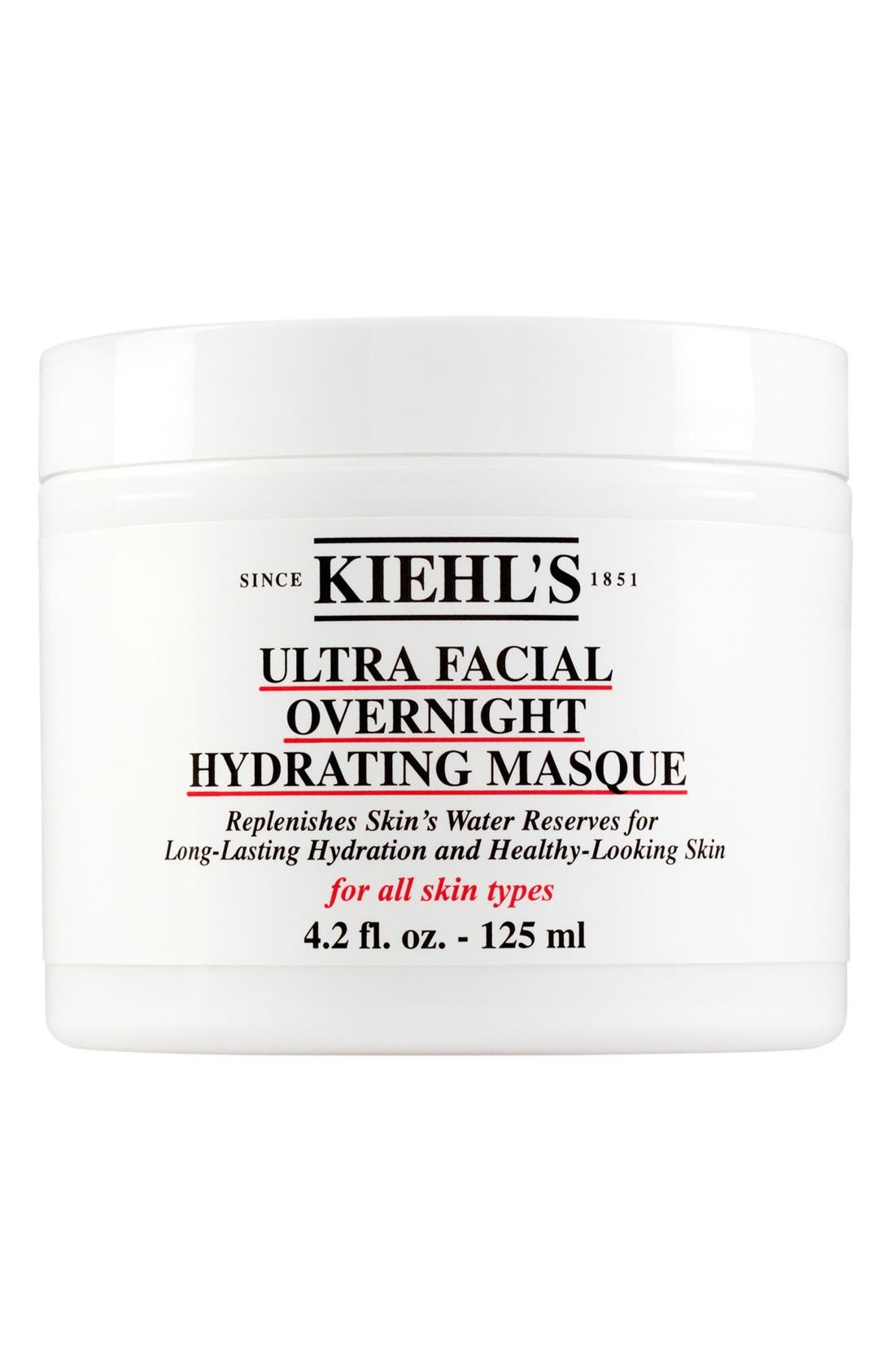 KIEHL'S SINCE 1851,                             Ultra Facial Overnight Hydrating Masque,                             Main thumbnail 1, color,                             NO COLOR