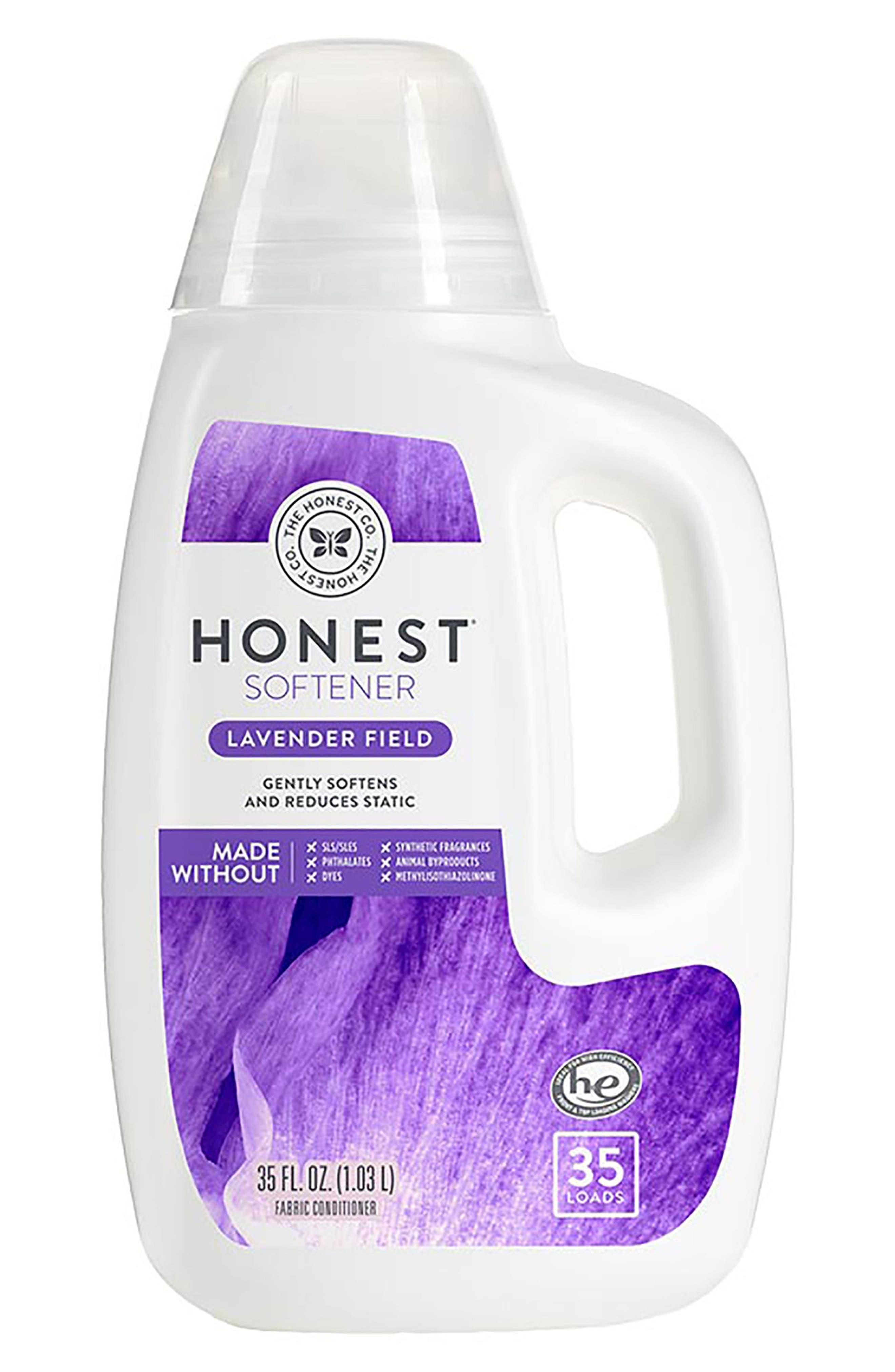 THE HONEST COMPANY Lavender Field Fabric Softener, Main, color, 500