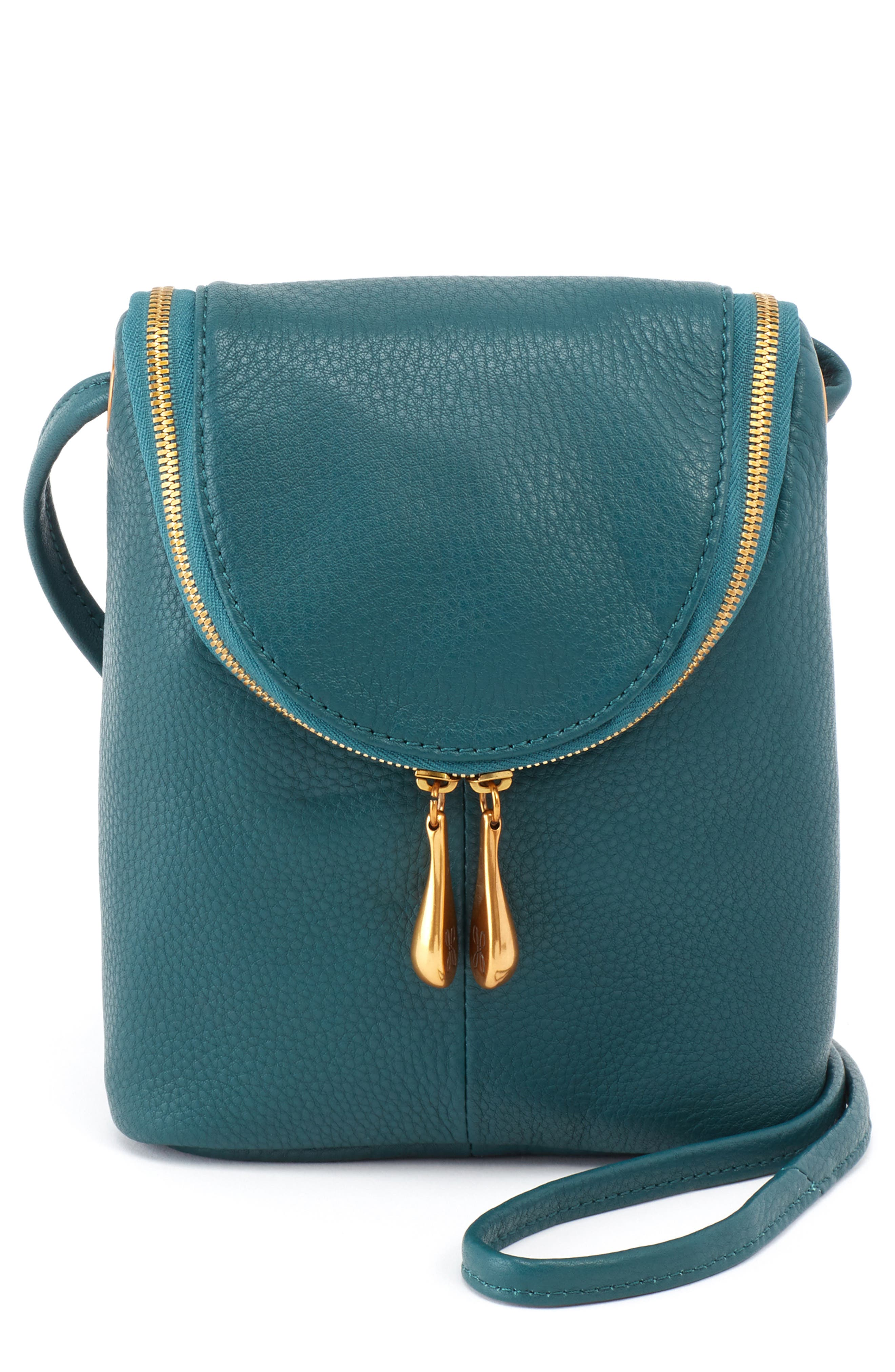 Fern Saddle Bag,                         Main,                         color, DARK TEAL