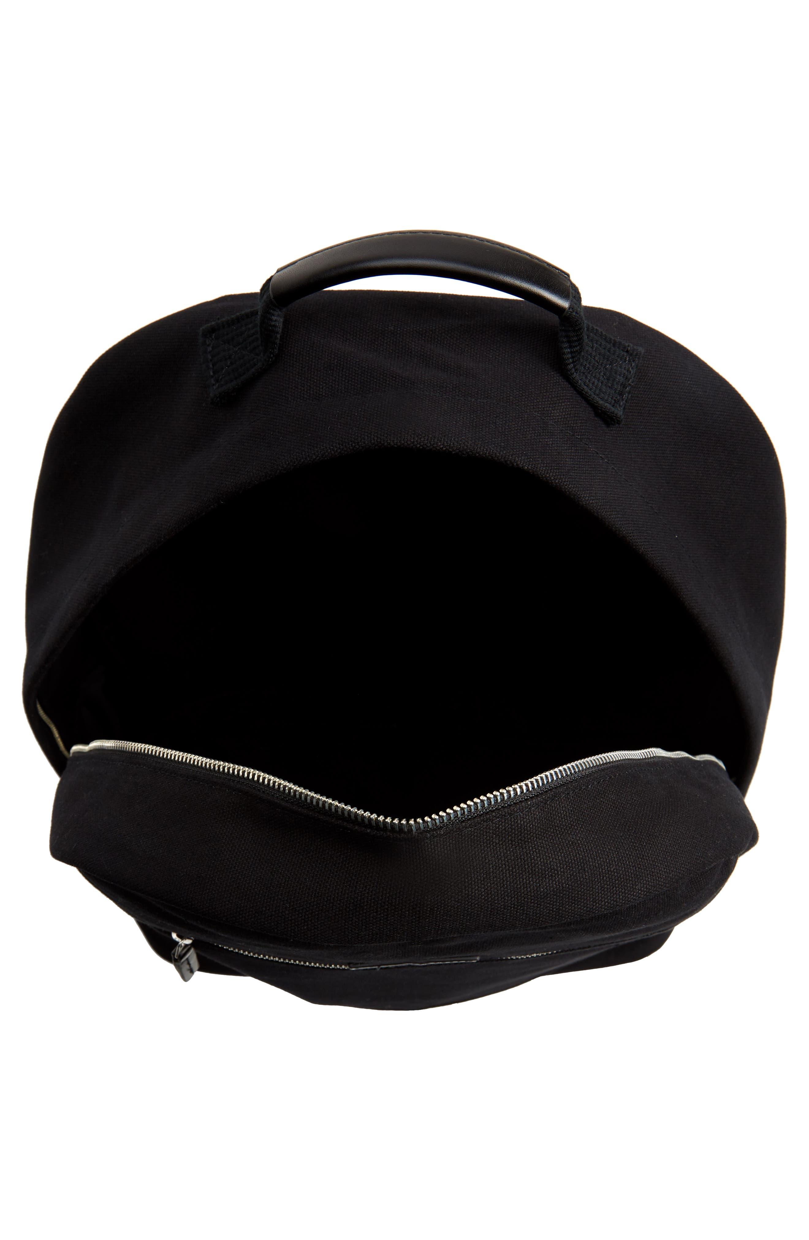 Hannes Water Repellent Backpack,                             Alternate thumbnail 4, color,                             BLACK