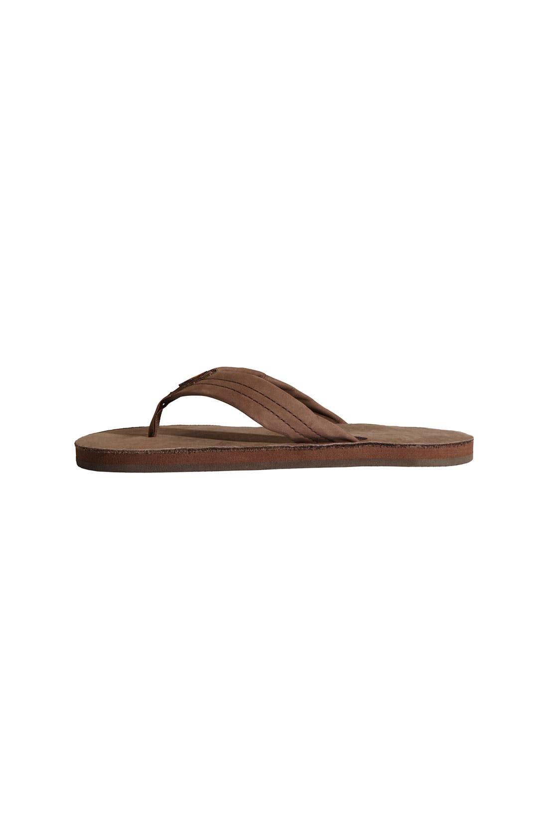 Leather Sandal,                             Alternate thumbnail 9, color,                             EXPRESSO