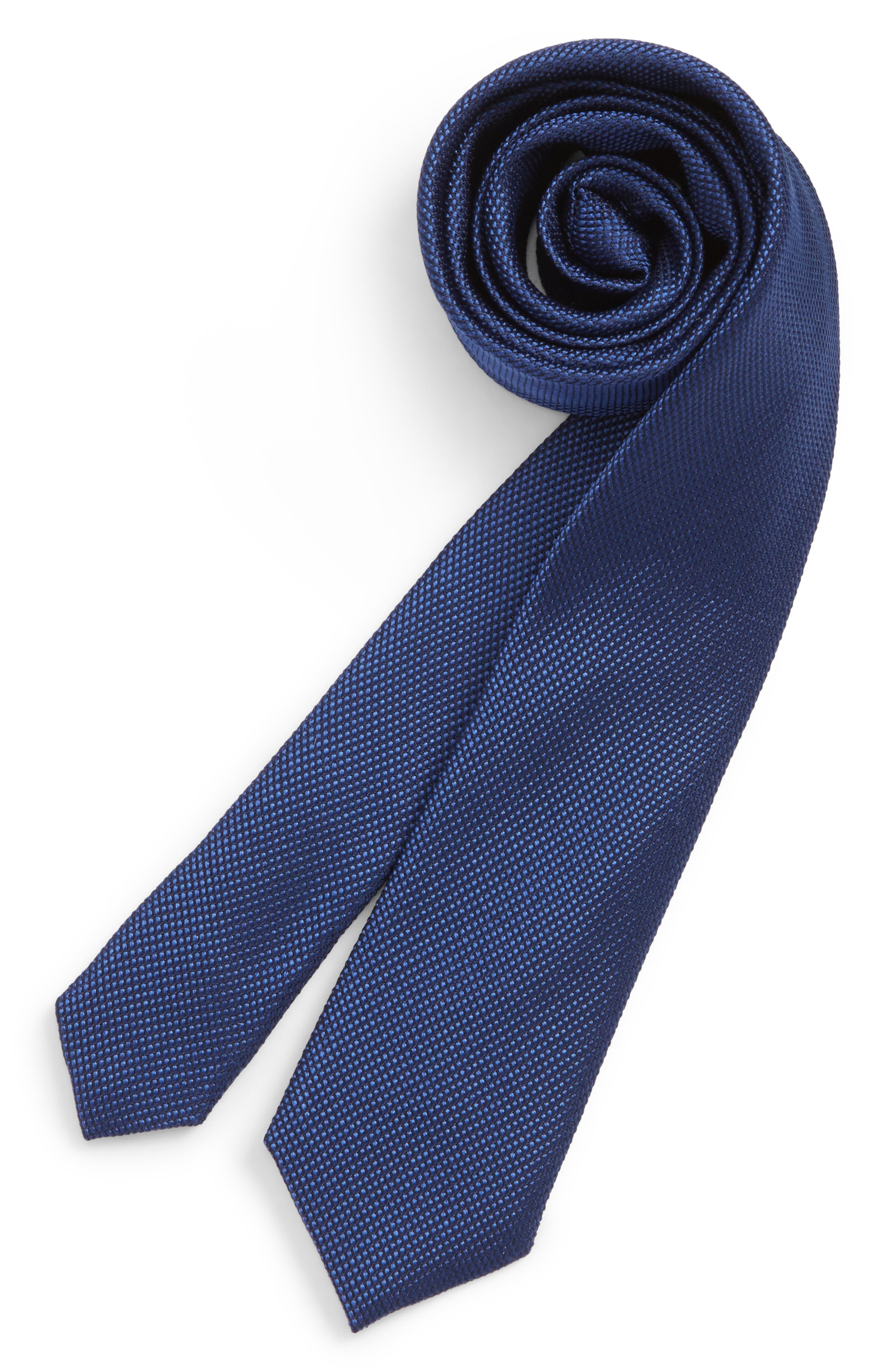 Solid Silk Tie,                             Main thumbnail 4, color,