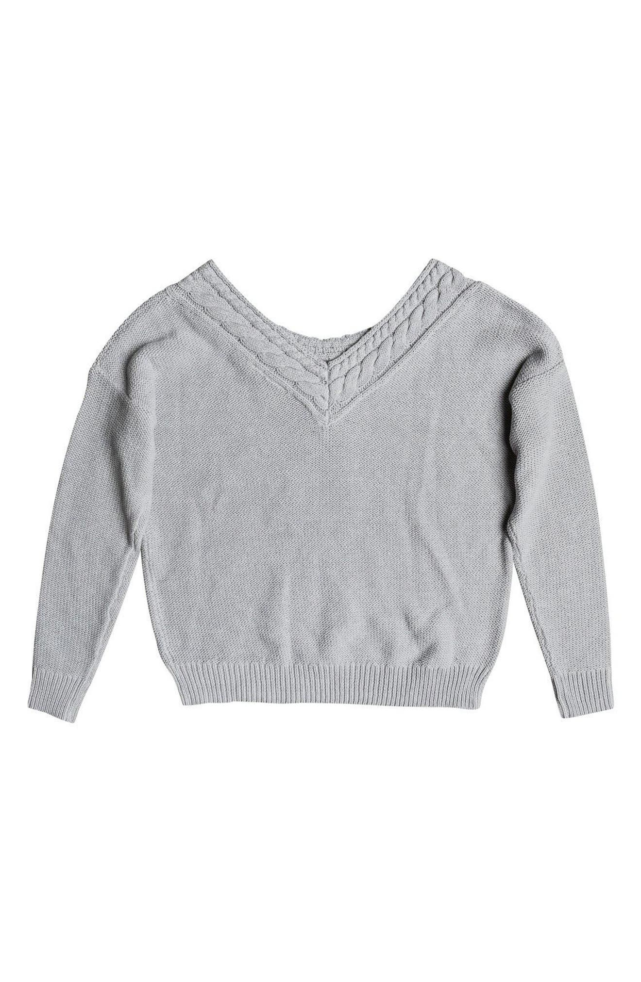 ROXY,                             Choose to Shine Sweater,                             Alternate thumbnail 3, color,                             037