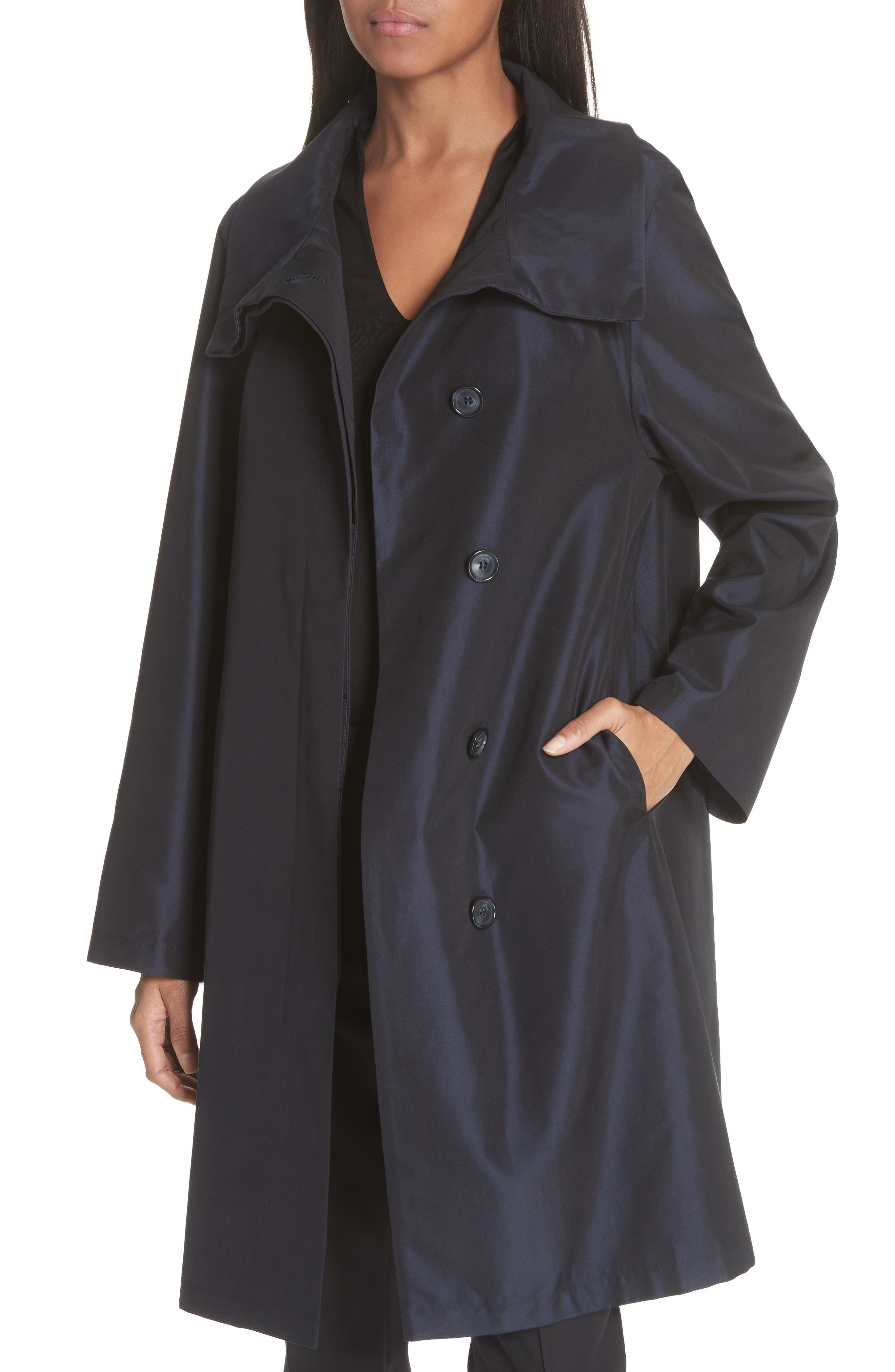 3-in-1 Technical Coat,                             Alternate thumbnail 3, color,                             BLACK