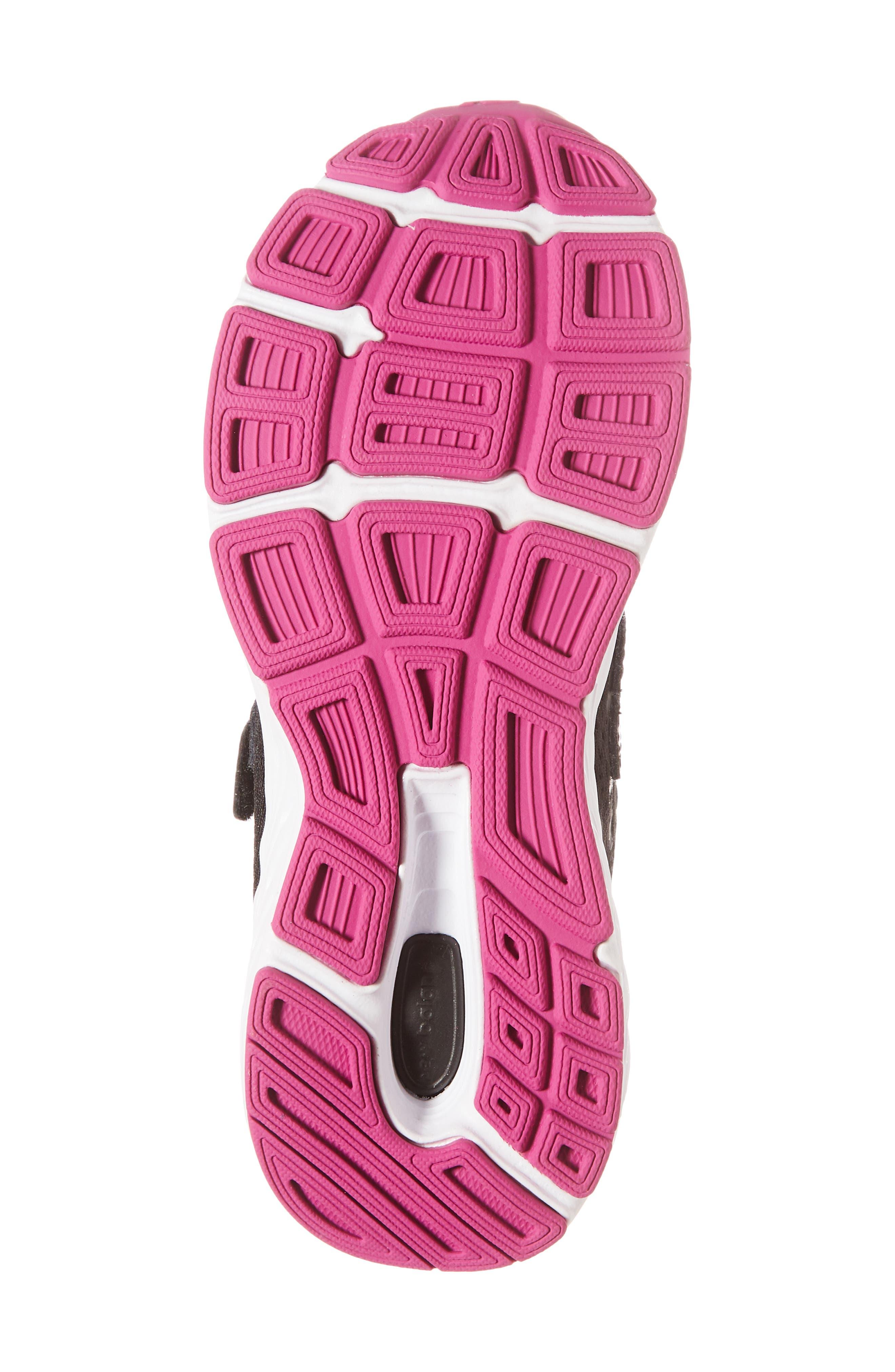 680v5 Sneaker,                             Alternate thumbnail 6, color,                             BLACK/ AZALEA