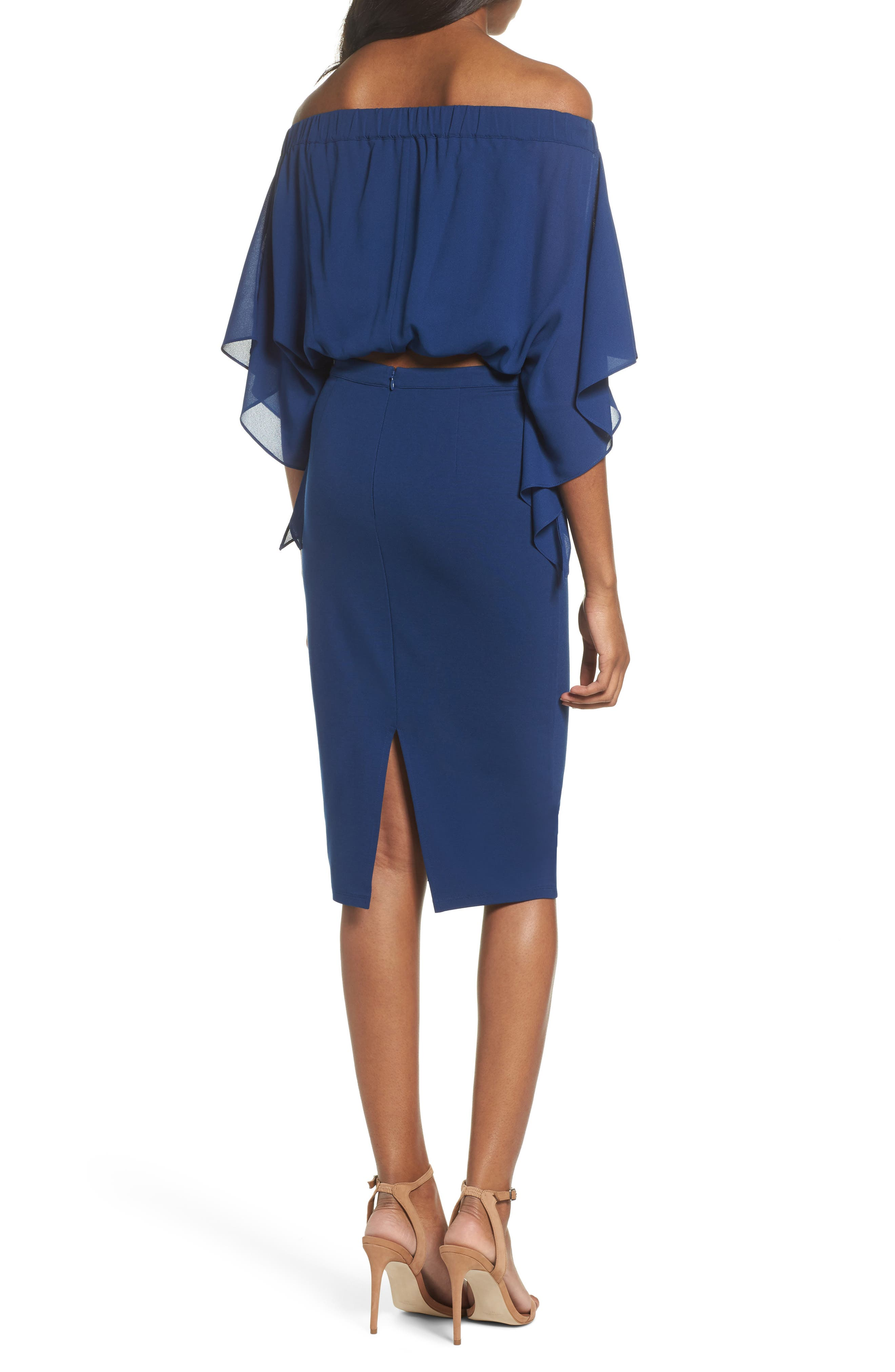 Sweet Smell of Success Two-Piece Dress,                             Alternate thumbnail 4, color,