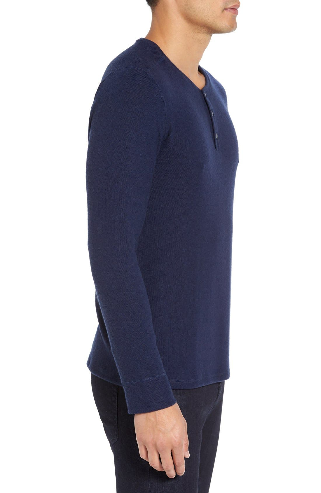Long Sleeve Henley,                             Alternate thumbnail 15, color,