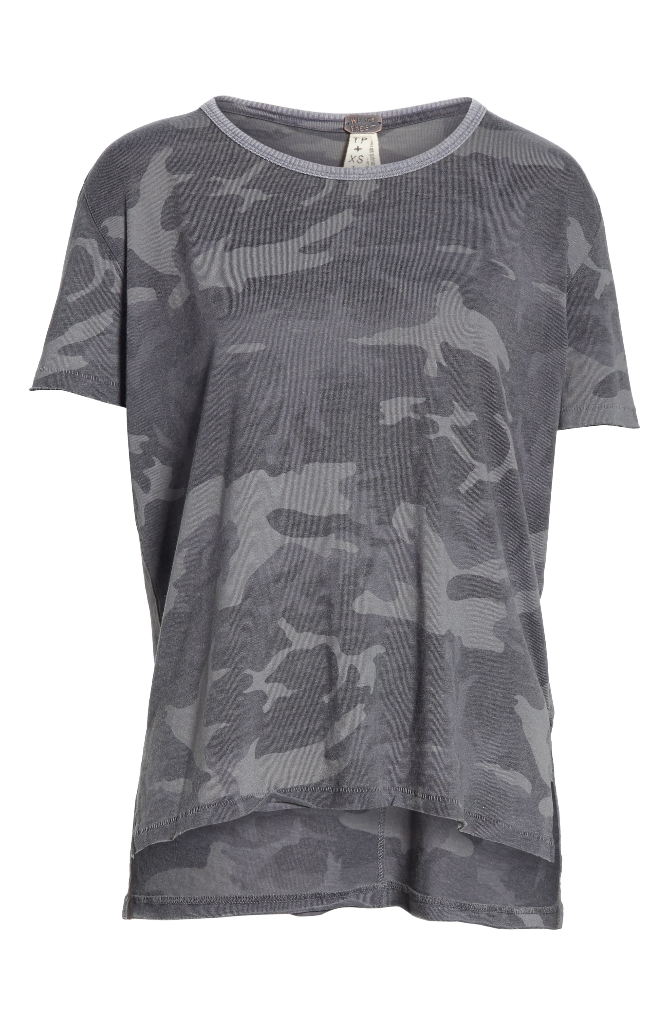 Army Tee,                             Alternate thumbnail 6, color,                             DARK GREY