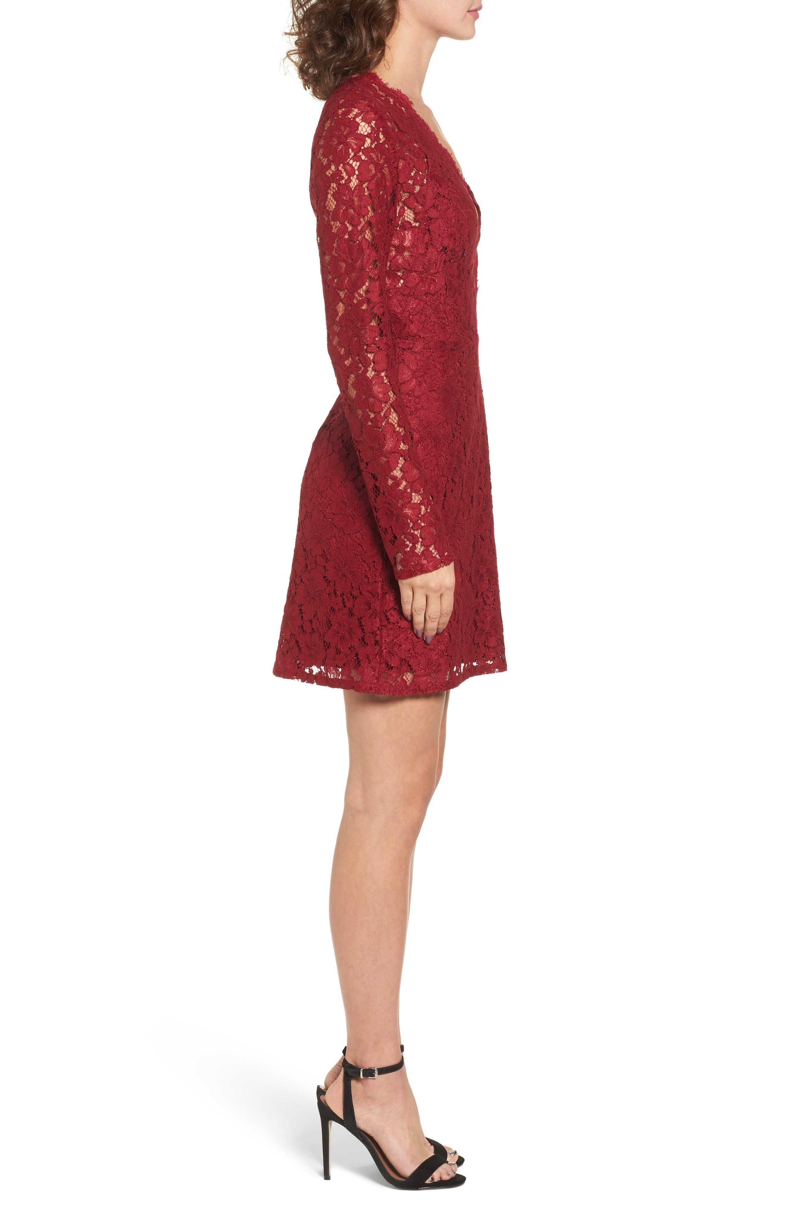 Say It Out Loud Lace Dress,                             Alternate thumbnail 10, color,