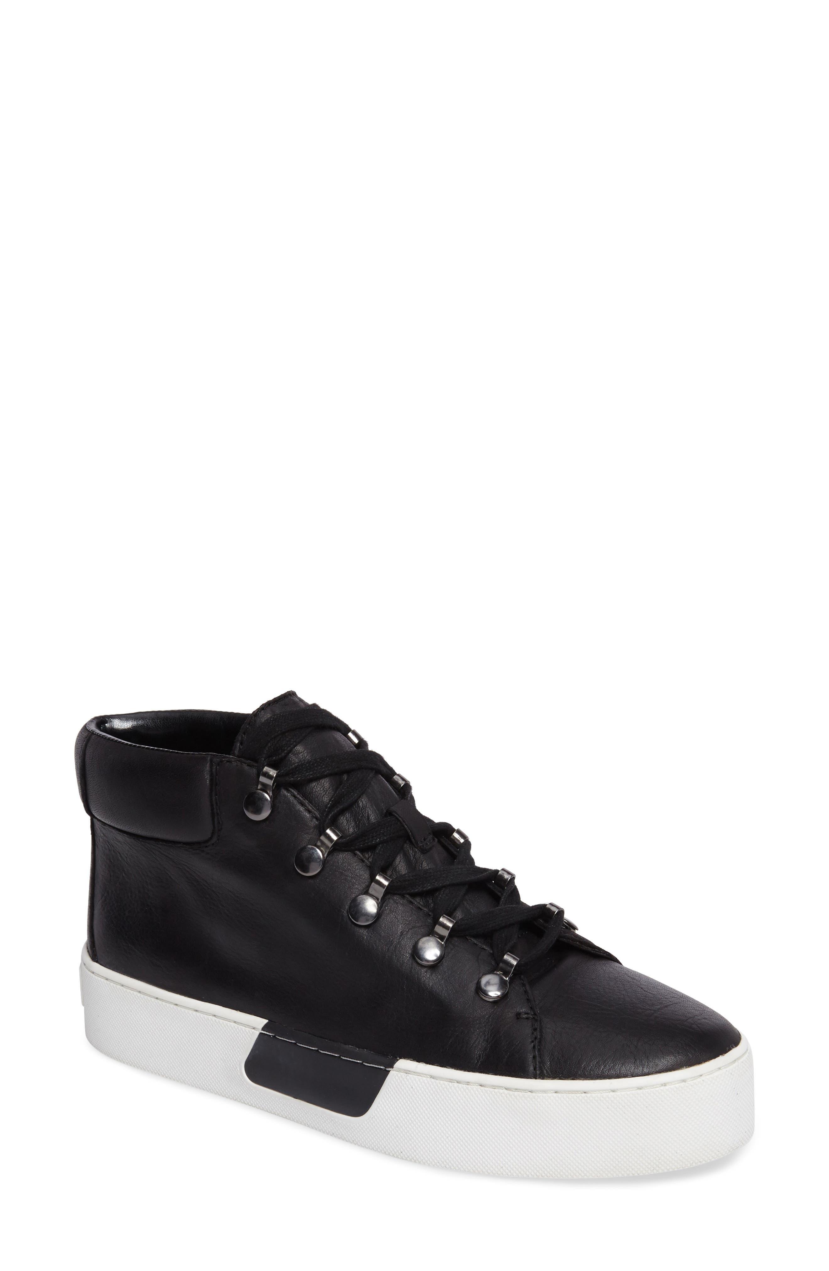 Wrine High Top Sneaker,                             Main thumbnail 1, color,                             001
