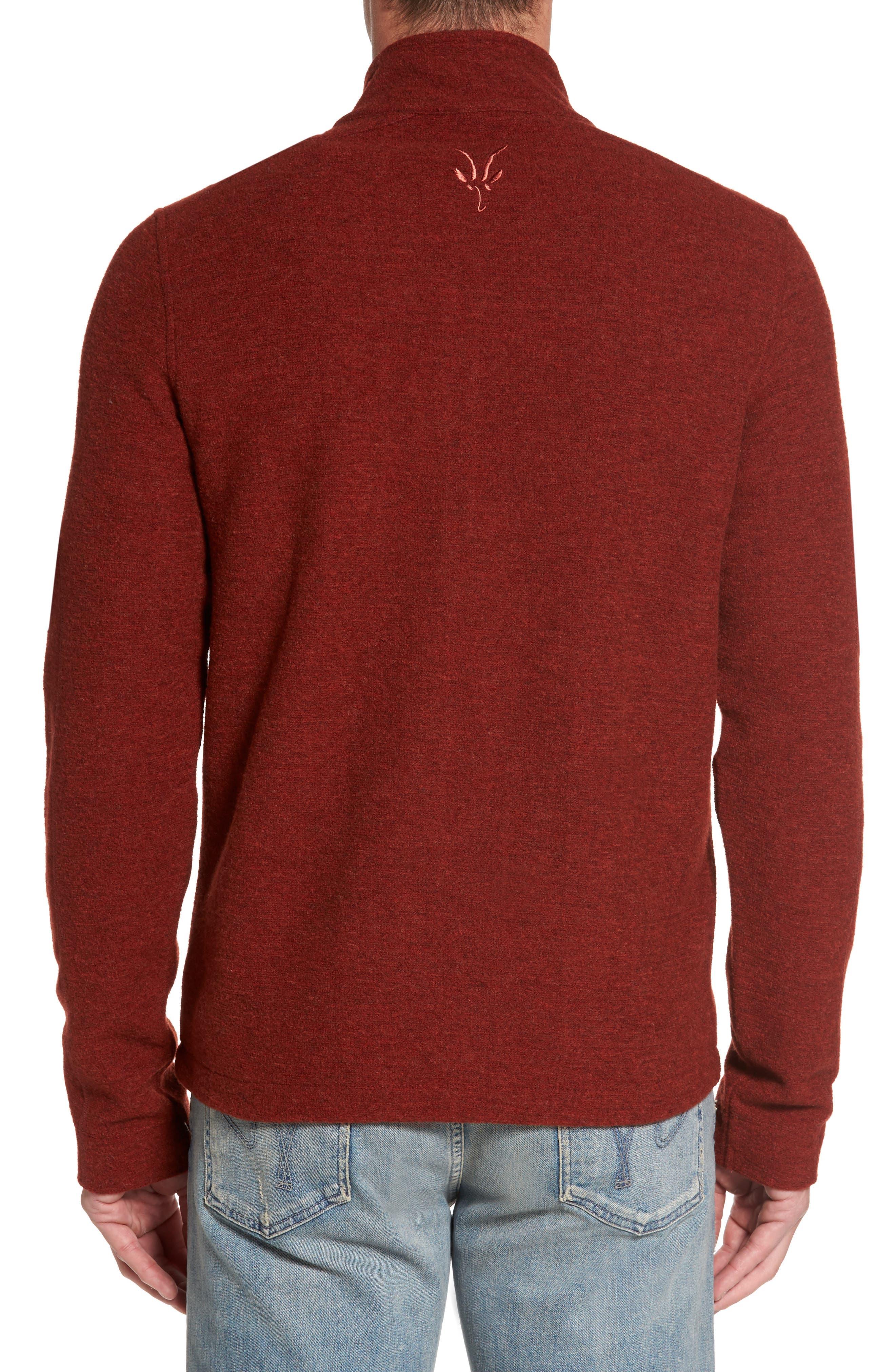 Scout Jura Merino Wool Blend Quarter Zip Pullover,                             Alternate thumbnail 10, color,