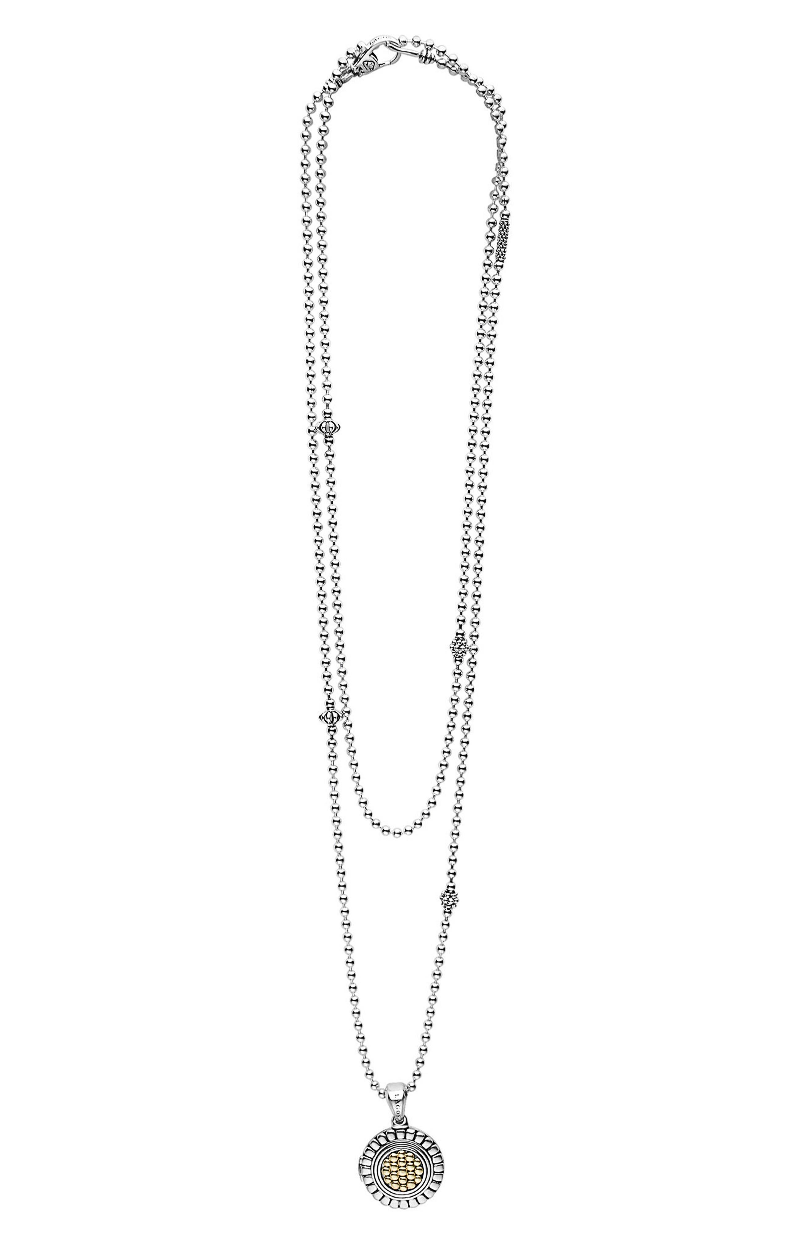 Beloved Locket Pendant Necklace,                             Alternate thumbnail 2, color,                             SILVER/ GOLD