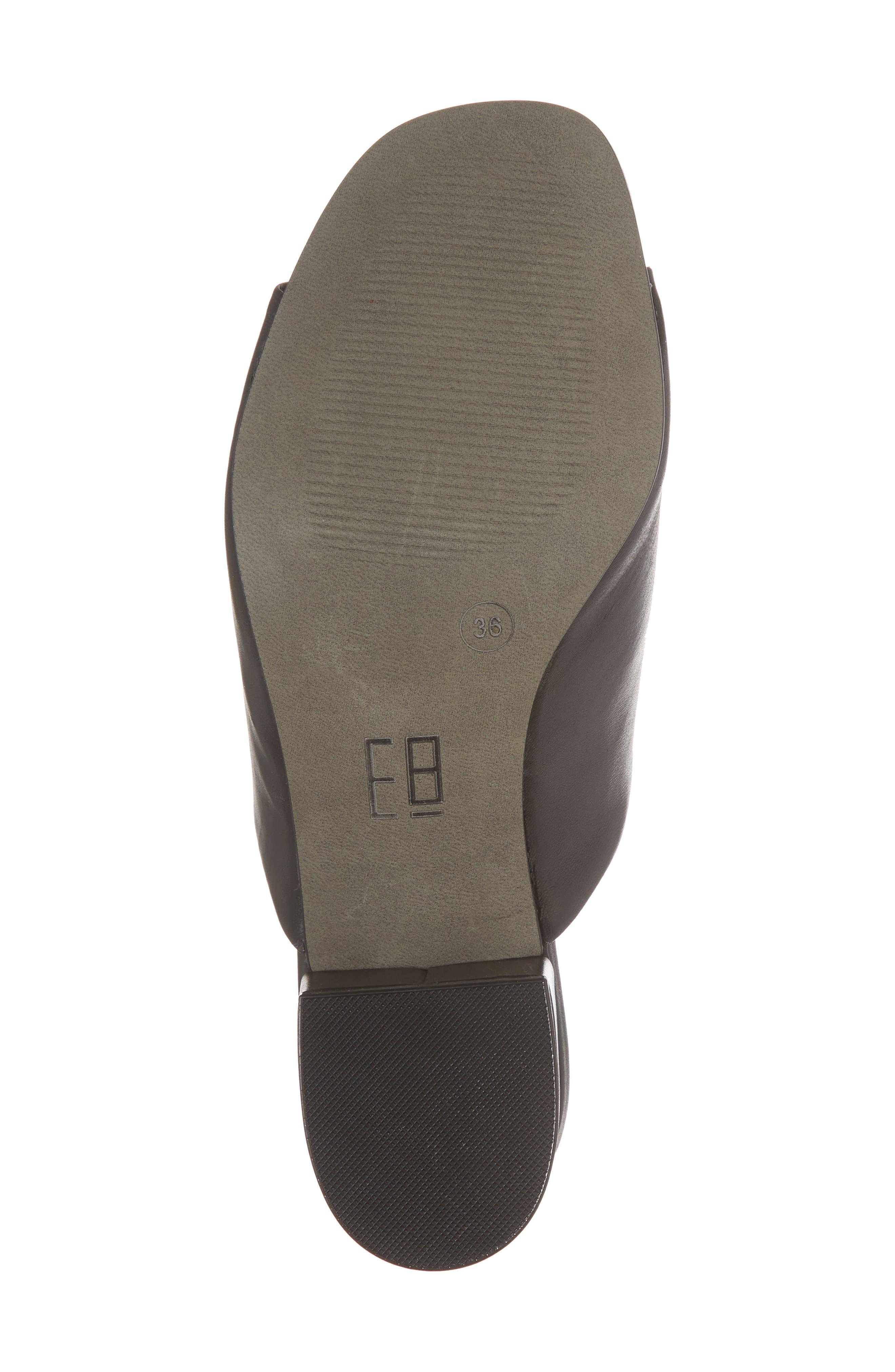 Mason Ankle Tie Sandal,                             Alternate thumbnail 6, color,                             BLACK LEATHER