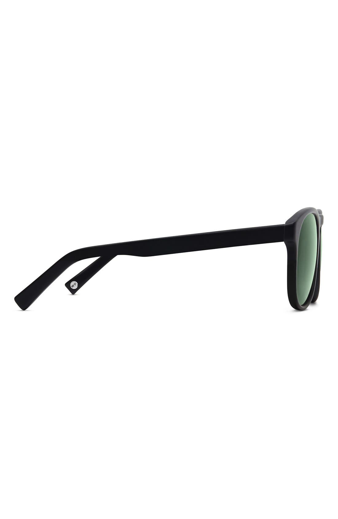 WARBY PARKER,                             'Griffin' 53mm Polarized Sunglasses,                             Alternate thumbnail 3, color,                             001