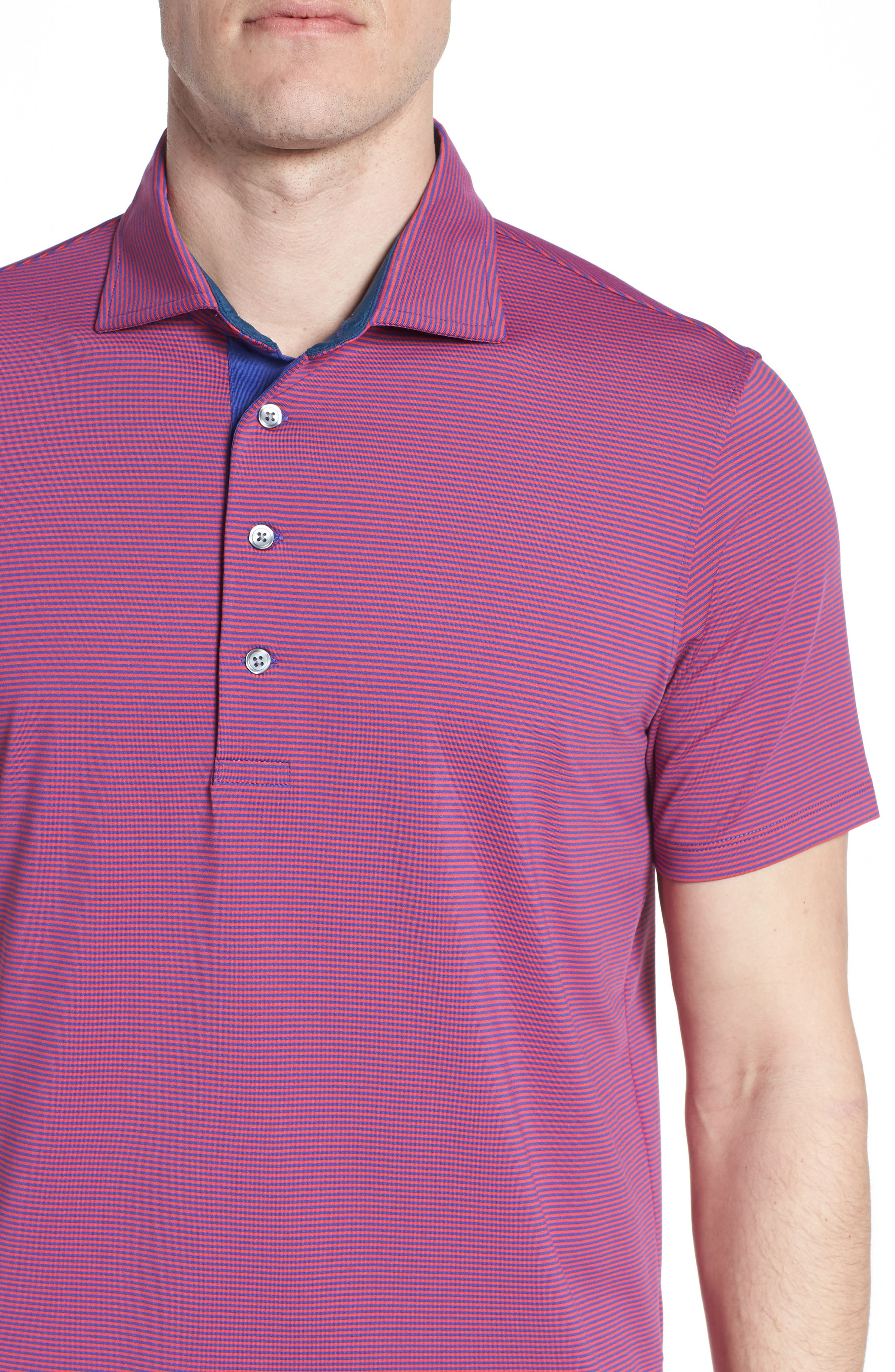 Saranac Jersey Polo,                             Alternate thumbnail 4, color,                             650