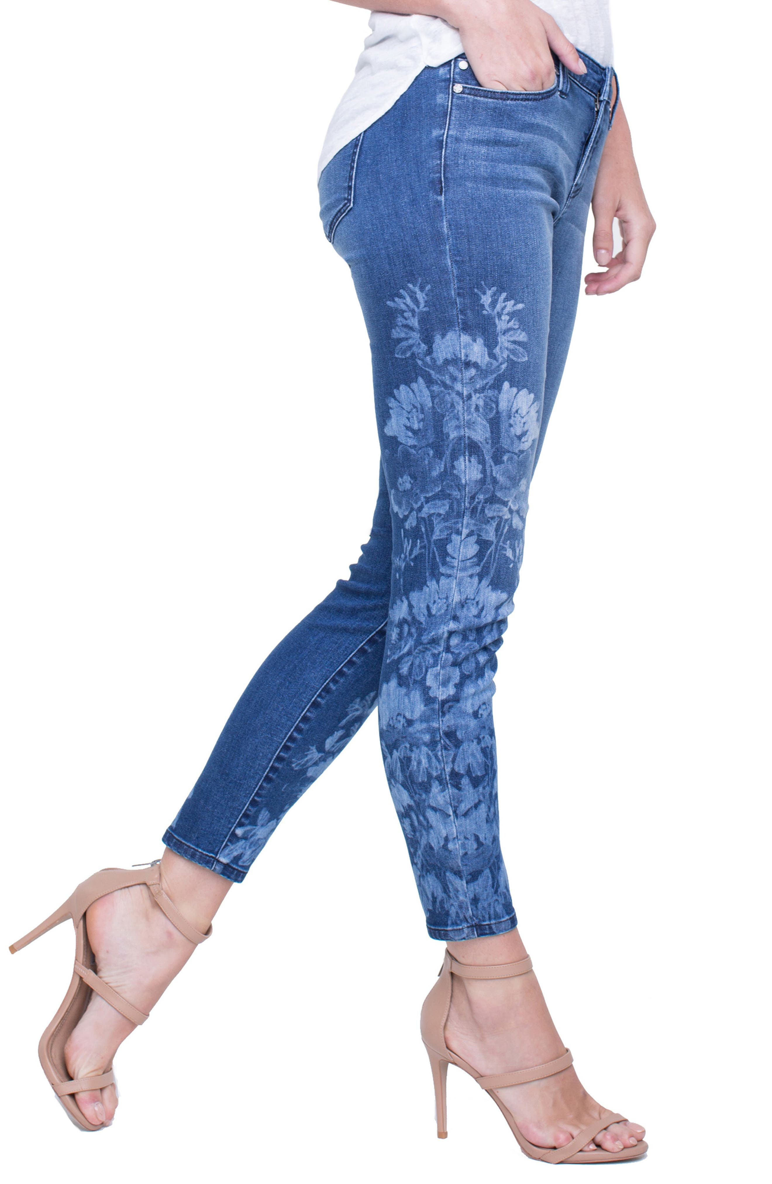 Penny Ankle Skinny Jeans,                             Alternate thumbnail 13, color,