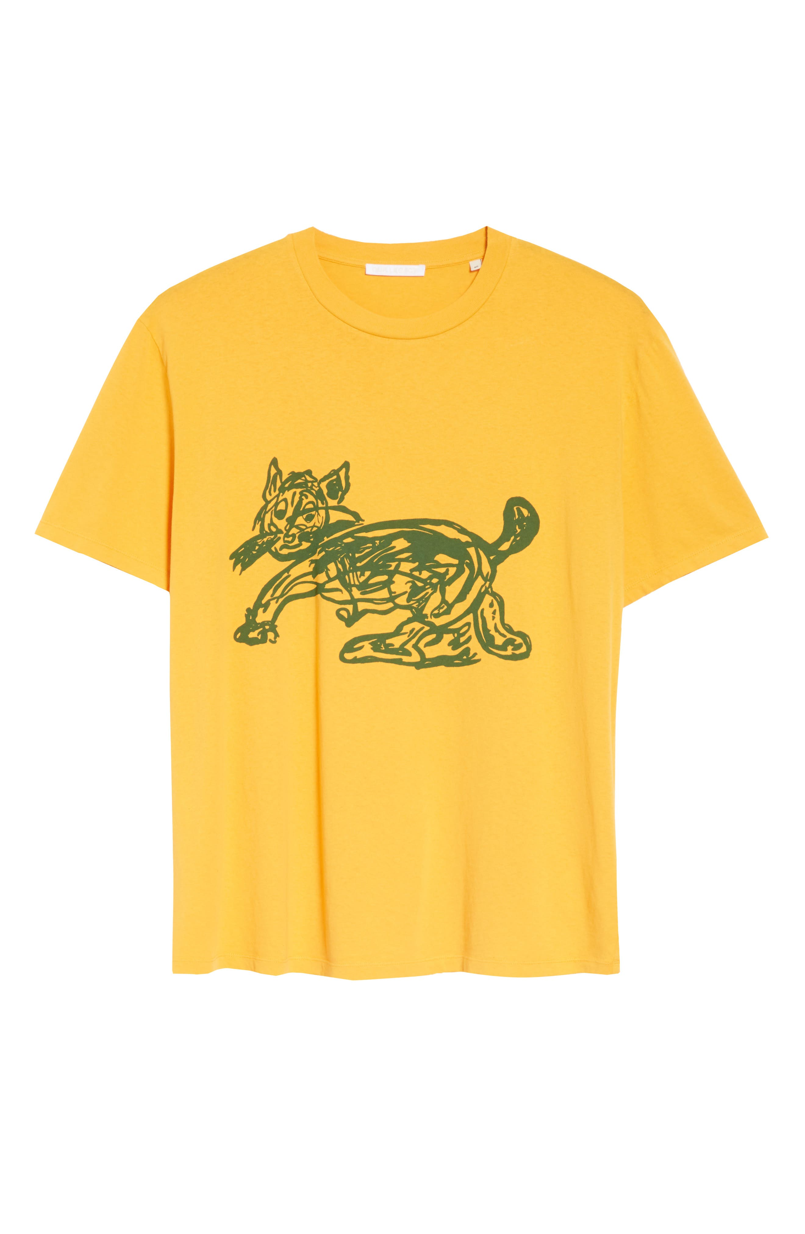 Cat Graphic Box T-shirt,                             Alternate thumbnail 6, color,                             CAT PRINT