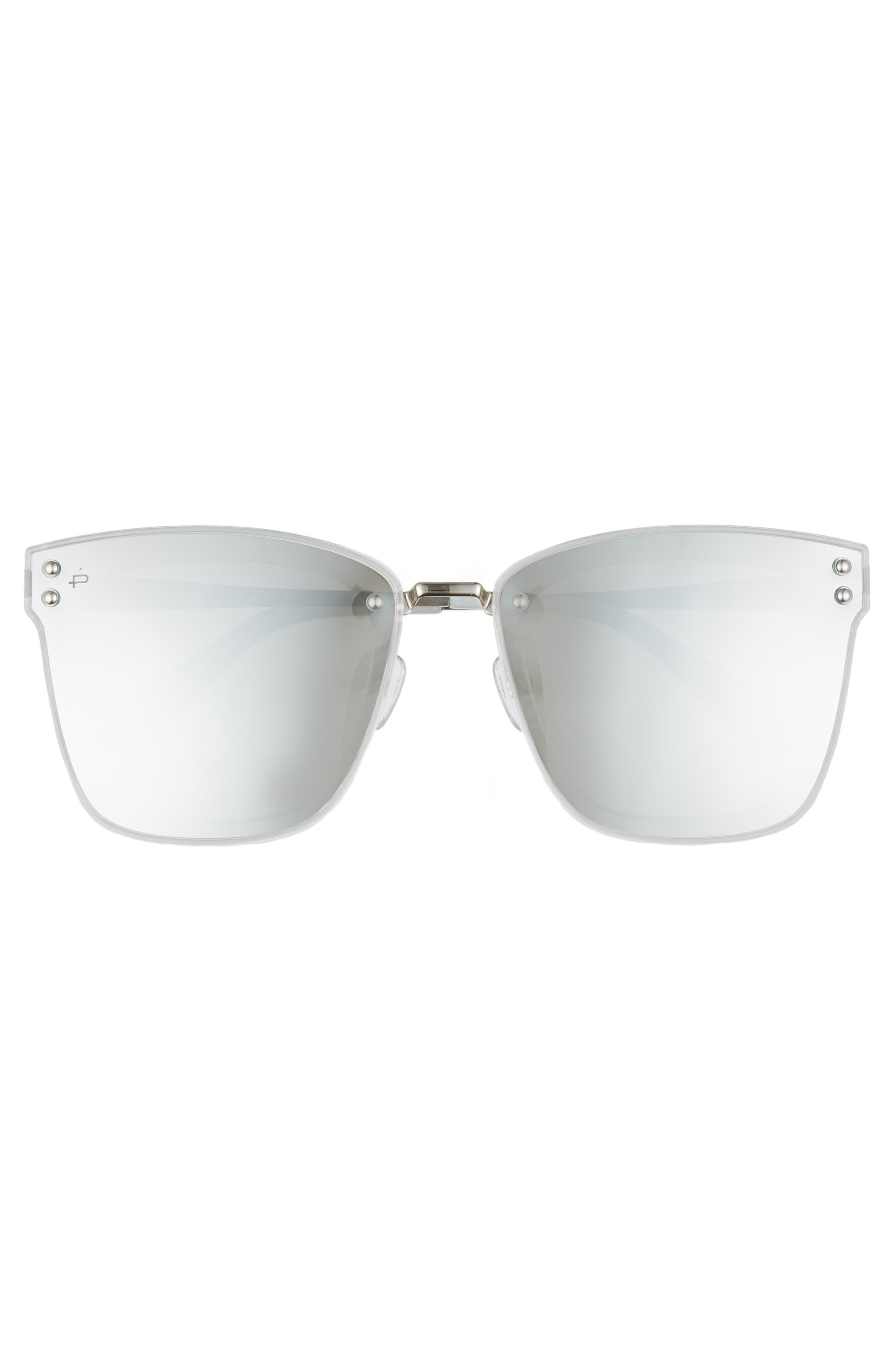 The Nasty Woman 50mm Square Sunglasses,                             Alternate thumbnail 3, color,                             040