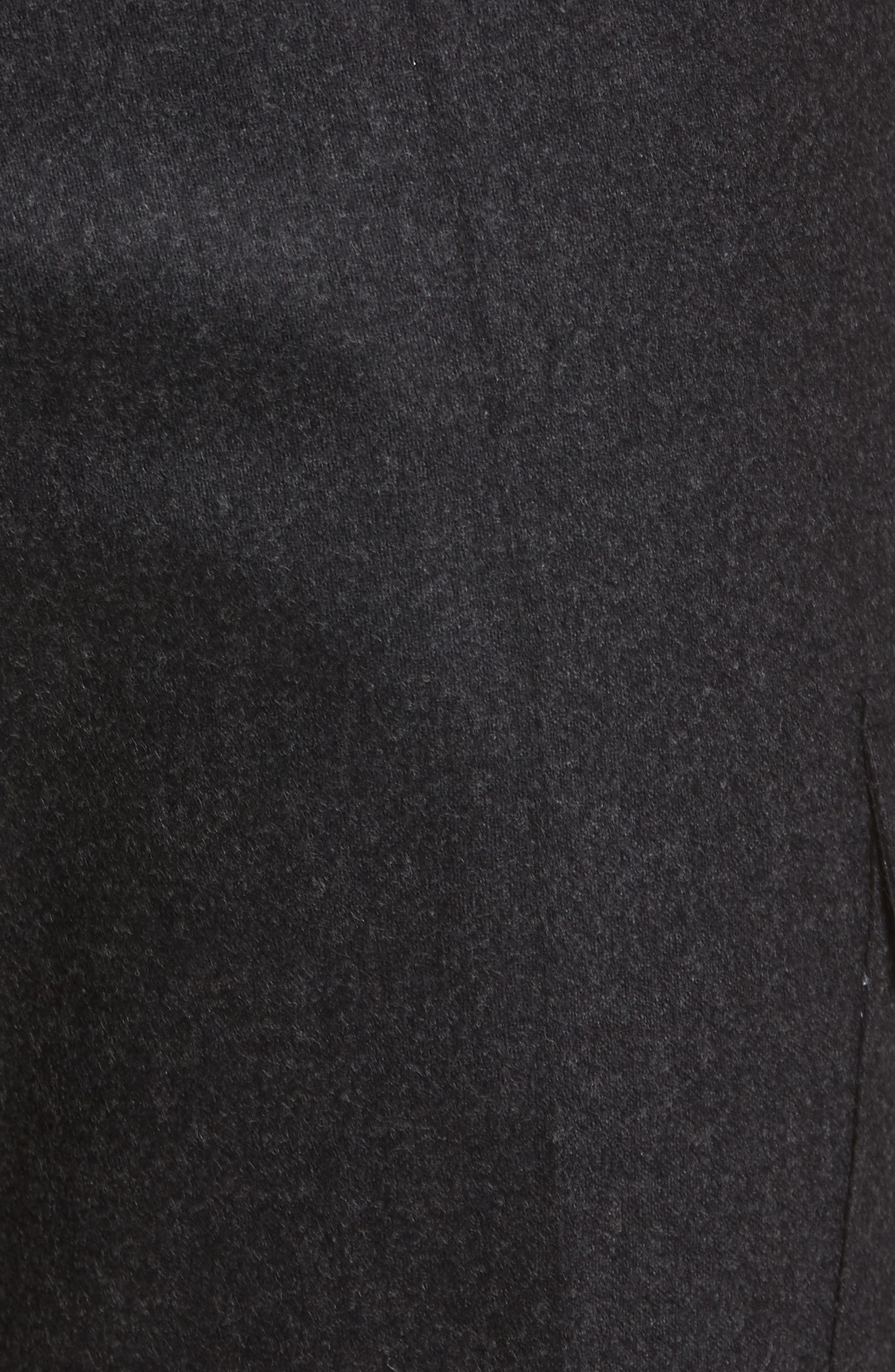 Balour Flat Front Stretch Solid Wool & Cashmere Cargo Trousers,                             Alternate thumbnail 2, color,