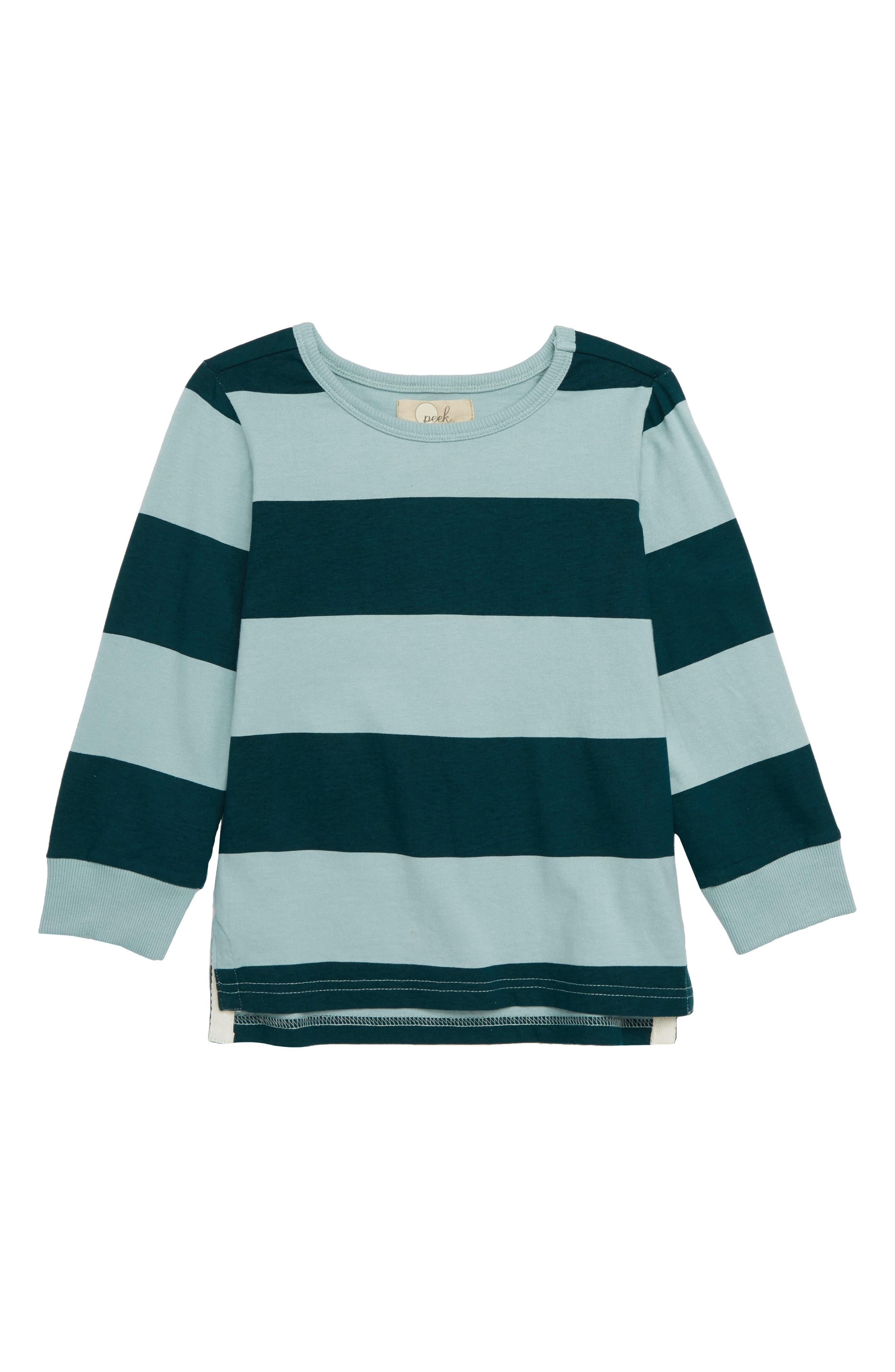 Caleb Stripe T-Shirt,                         Main,                         color, GREEN