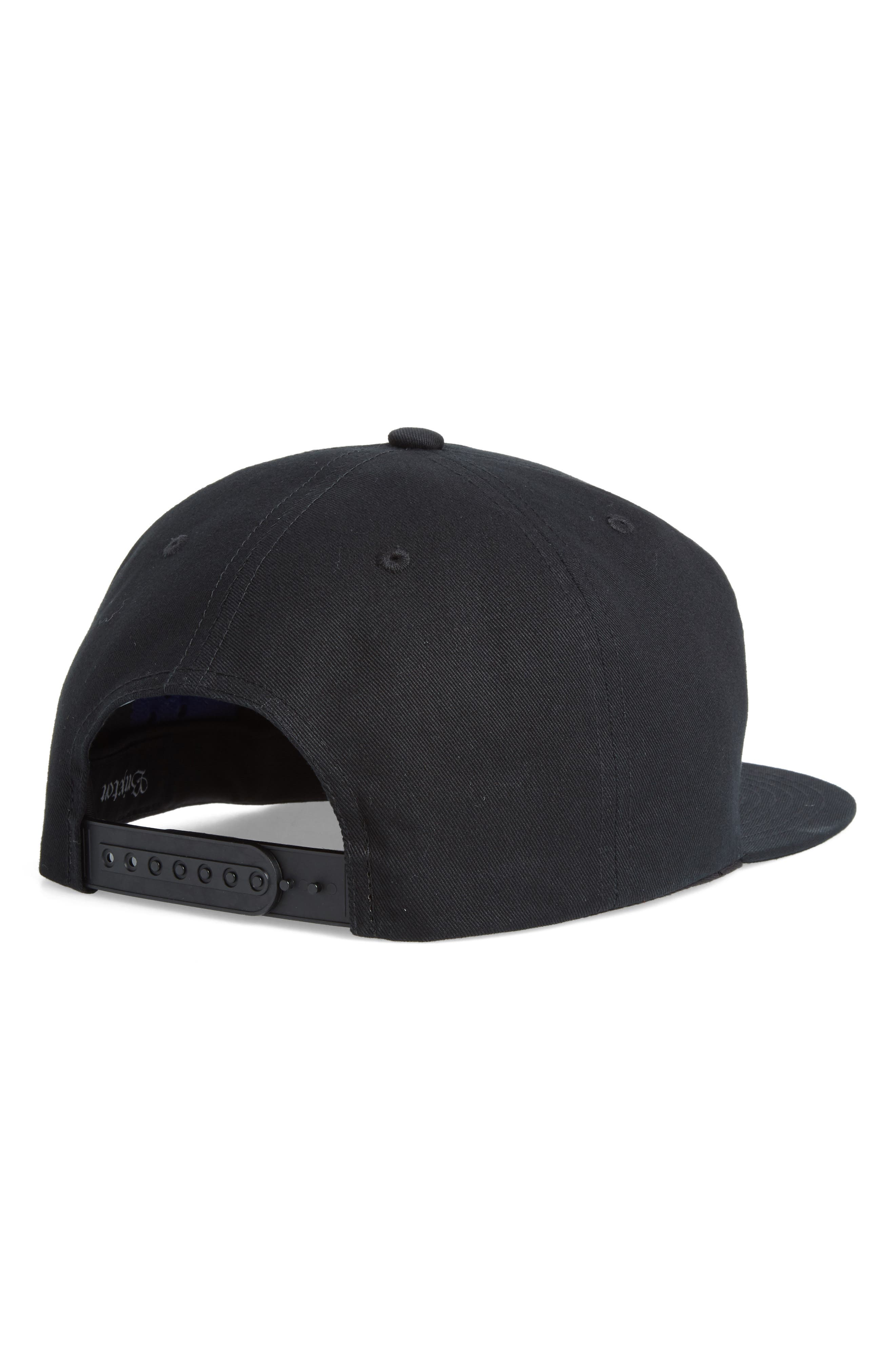 Pomona Ball Cap,                             Alternate thumbnail 2, color,                             BLACK