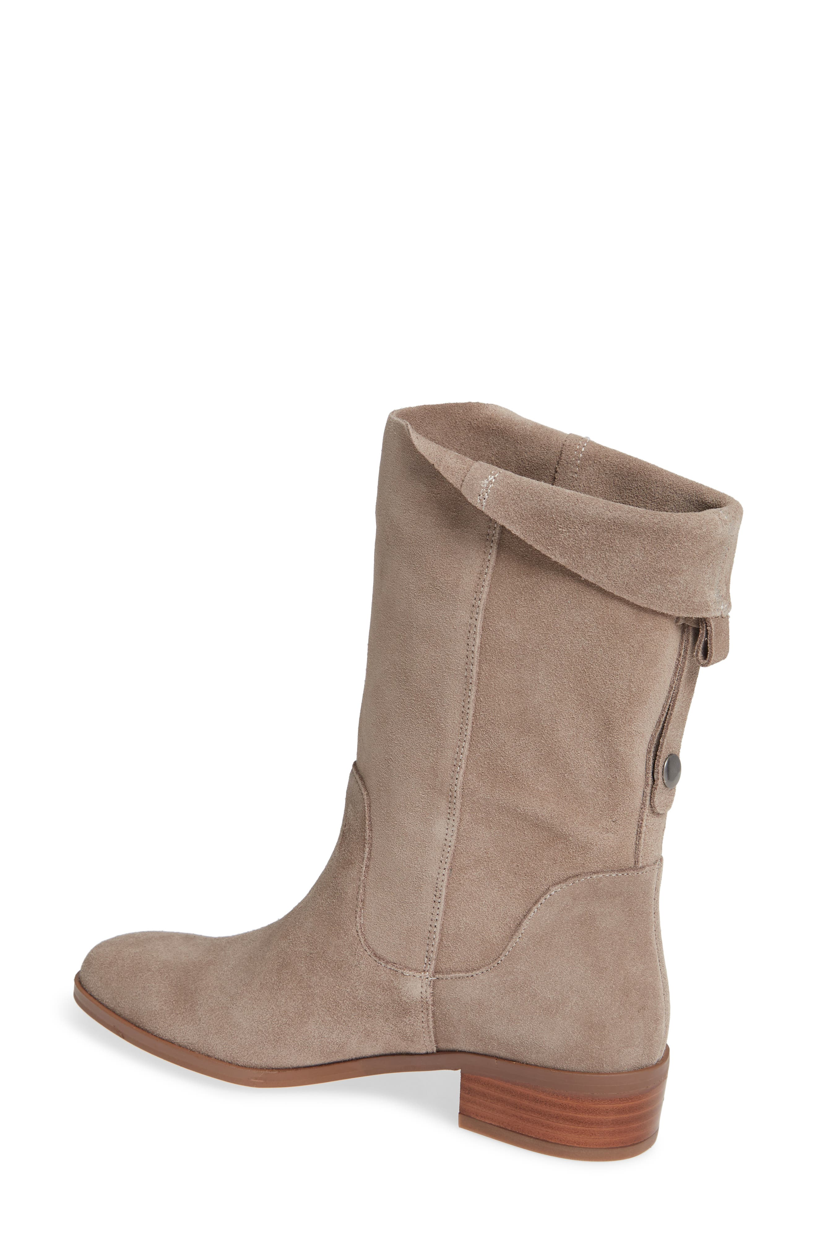 Calanth Bootie,                             Alternate thumbnail 2, color,                             MUSHROOM SUEDE