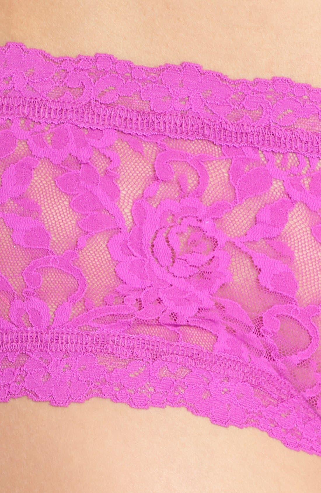 'Signature Lace' Boyshorts,                             Alternate thumbnail 320, color,