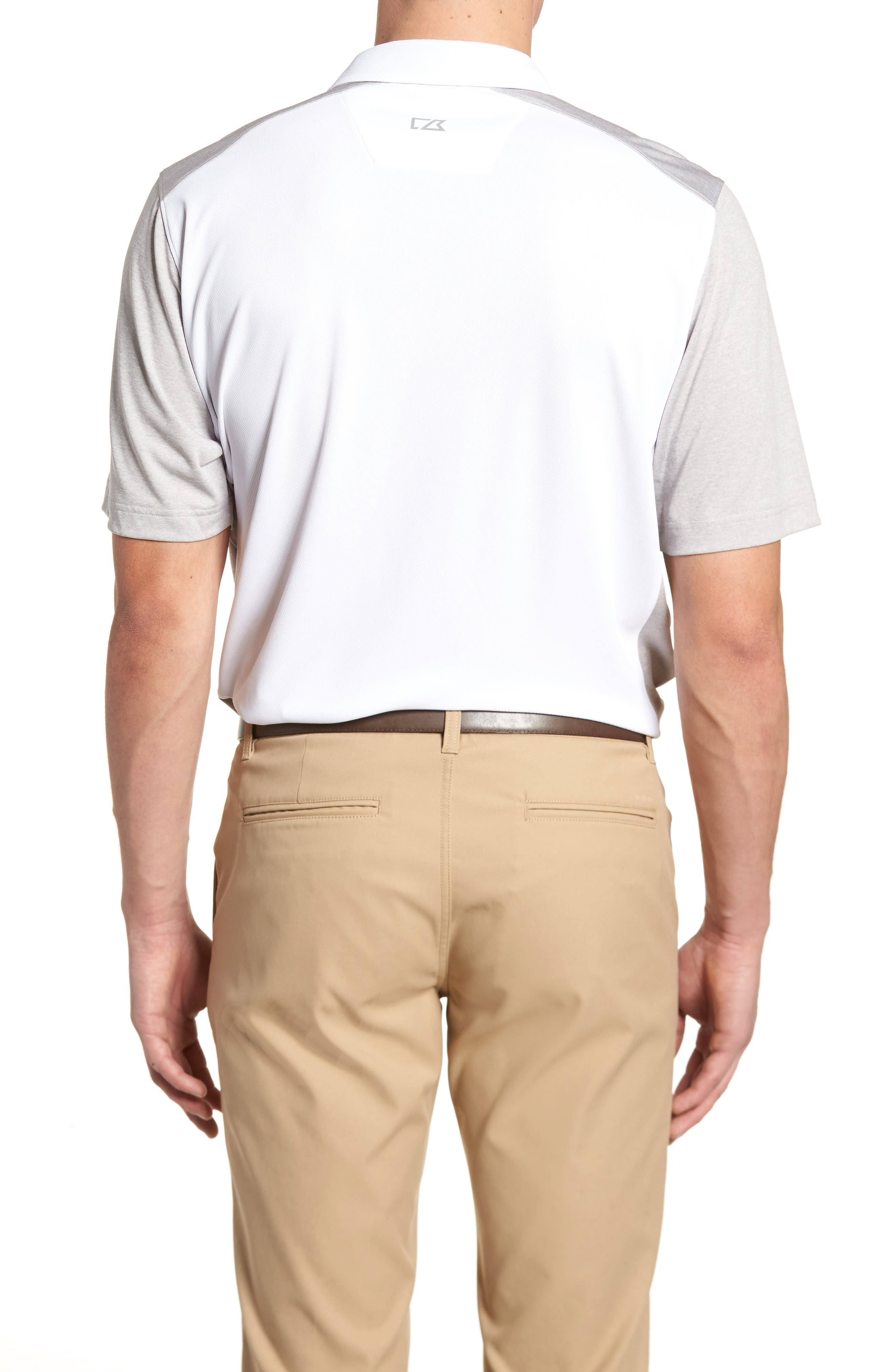Colorblock DryTec Polo,                             Alternate thumbnail 2, color,                             100
