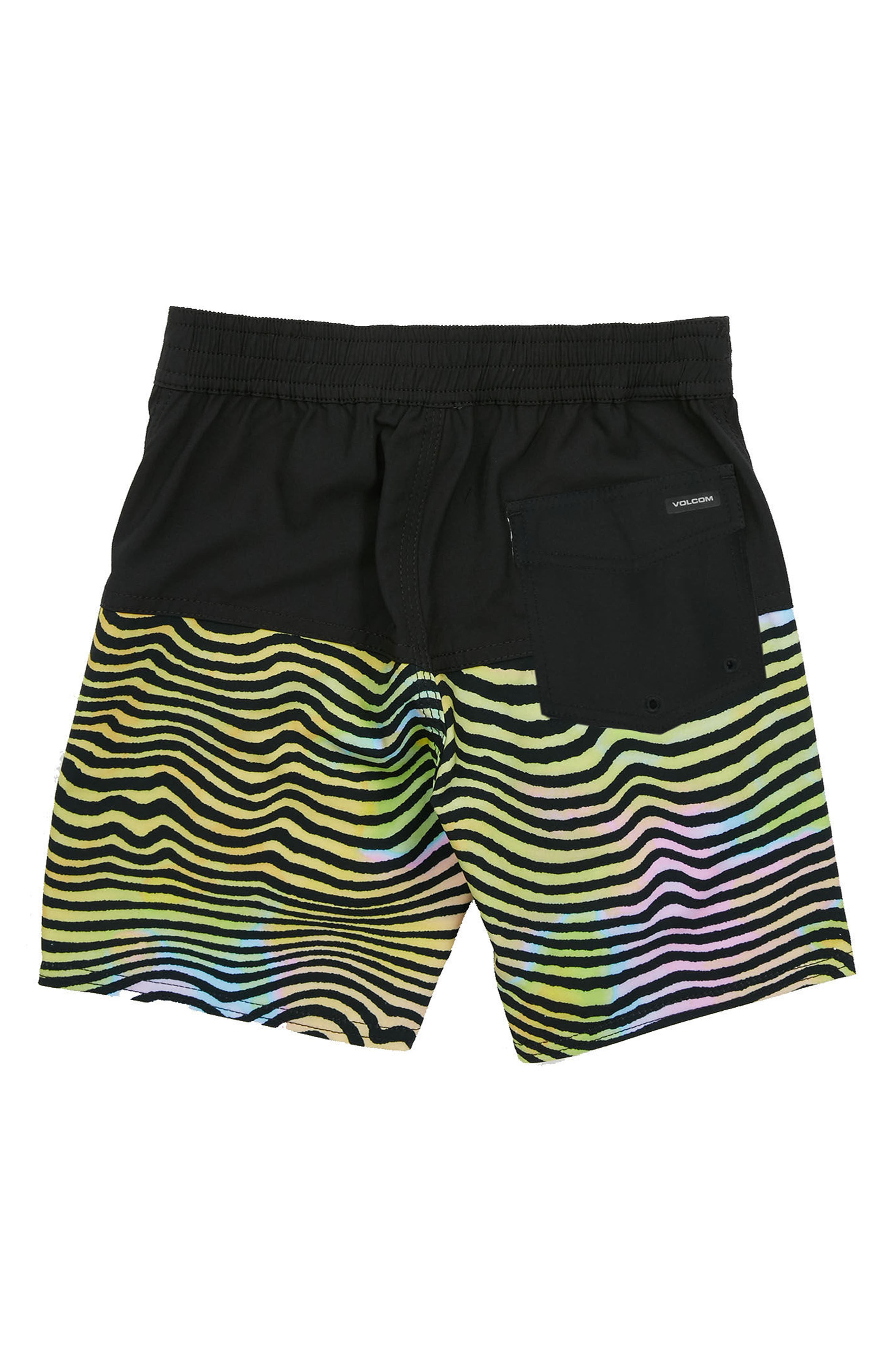 VOLCOM,                             Vibes Board Shorts,                             Alternate thumbnail 2, color,                             001