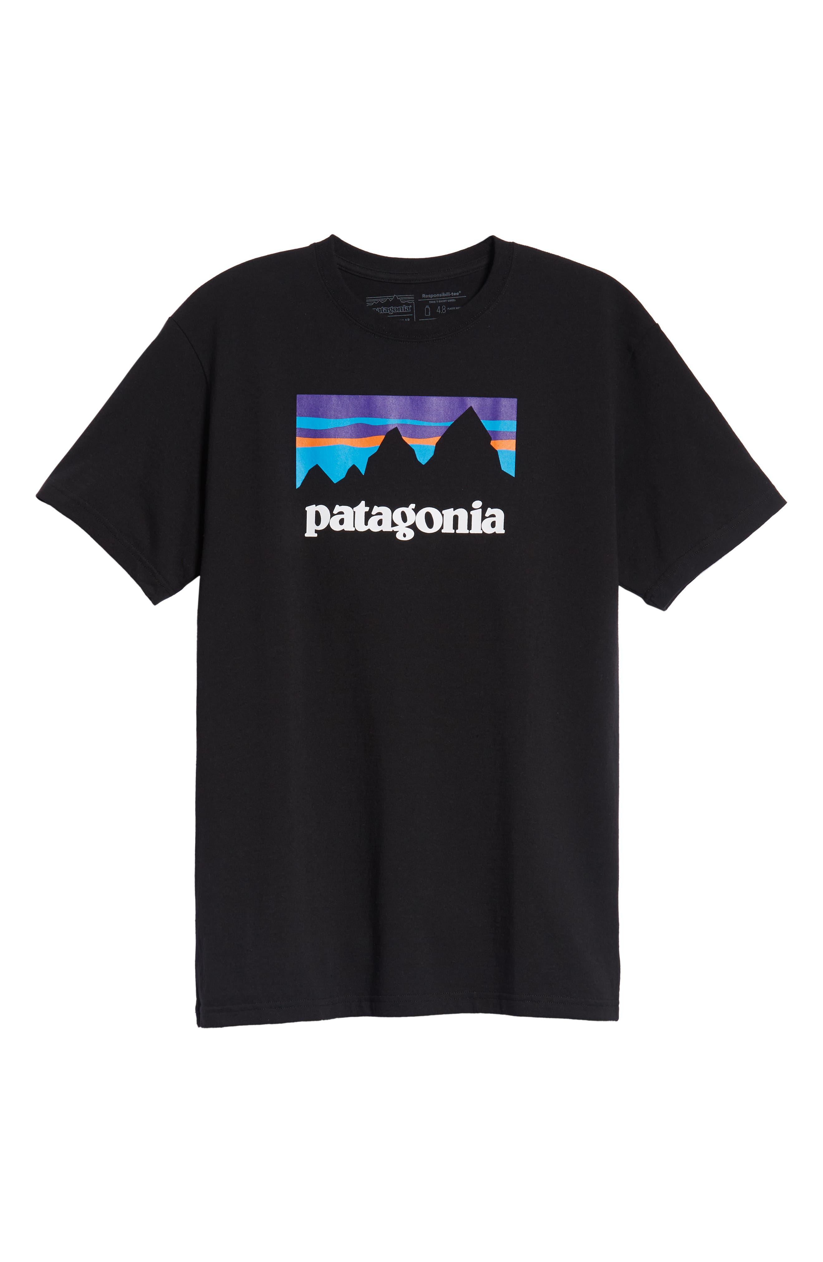 Shop Sticker Responsibili-Tee T-Shirt,                             Alternate thumbnail 6, color,                             BLACK