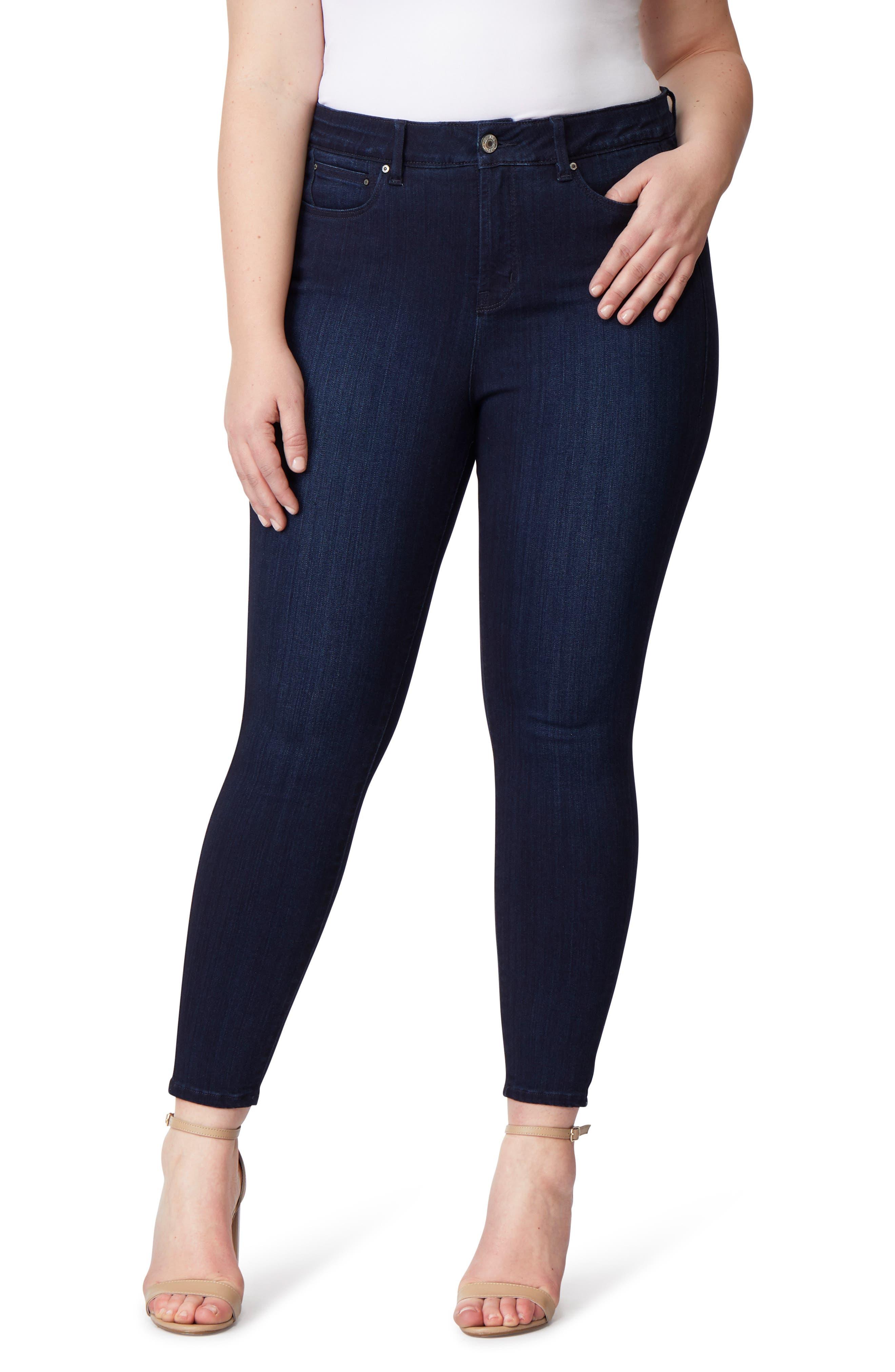 Super Bass Push-Up Skinny Jeans,                         Main,                         color, FRESNO