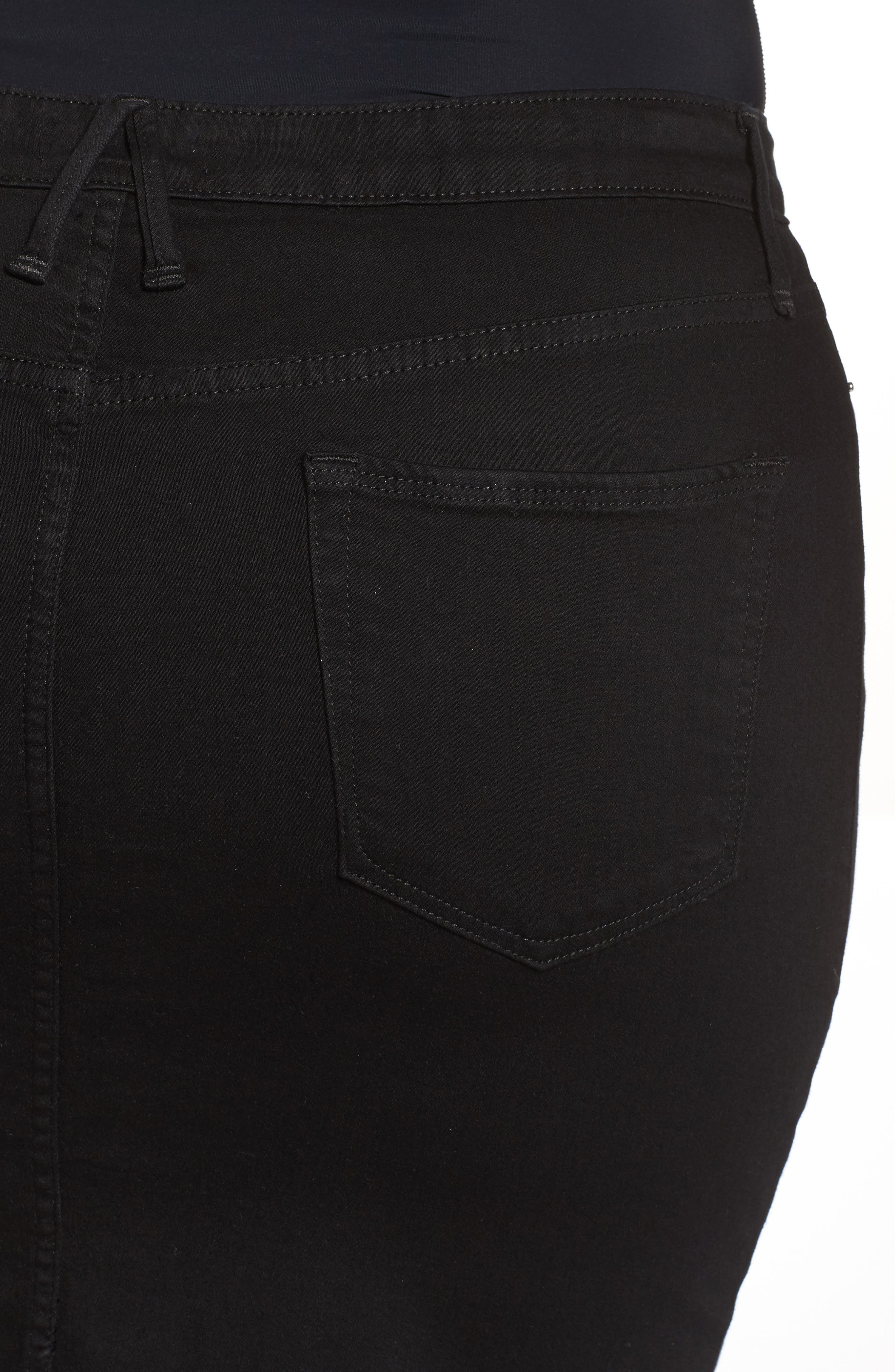 The Pencil Skirt,                             Alternate thumbnail 4, color,                             001