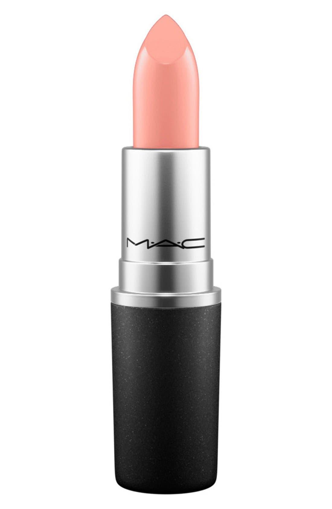 MAC Cremesheen + Pearl Lipstick,                         Main,                         color, PURE ZEN