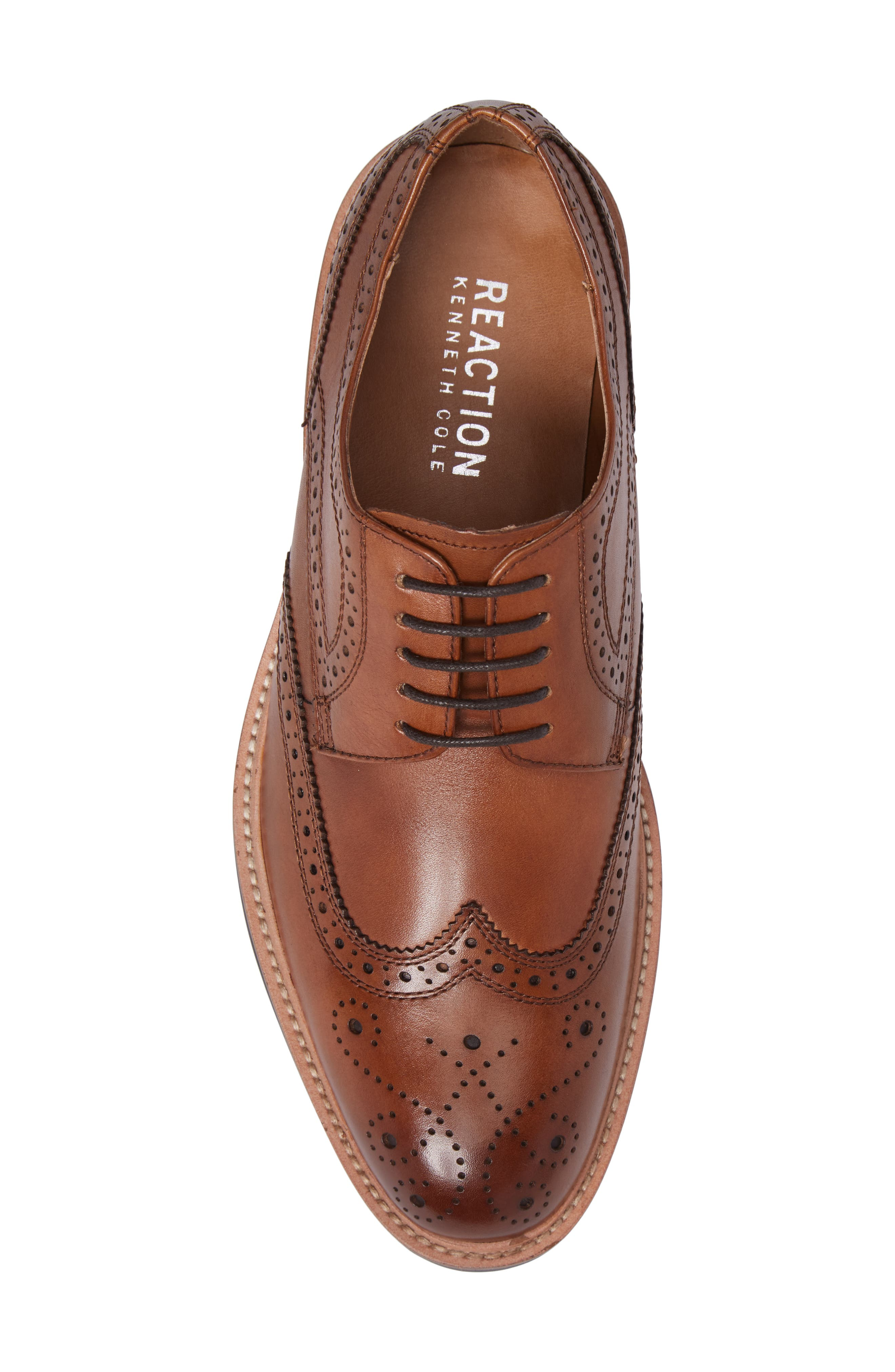Kenneth Cole Reaction Wingtip,                             Alternate thumbnail 5, color,