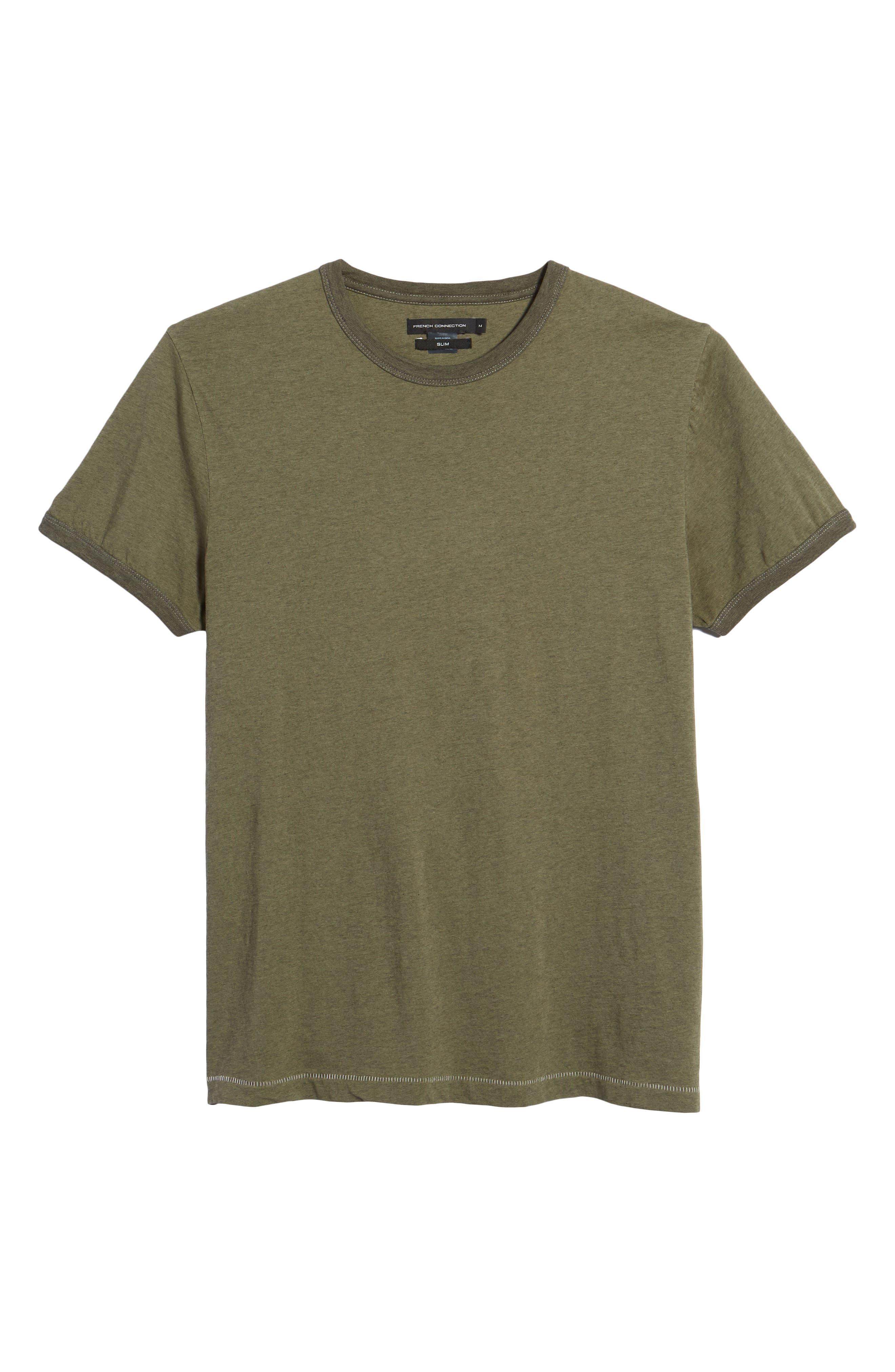 Bens Slim Fit Ringer T-Shirt,                             Alternate thumbnail 17, color,