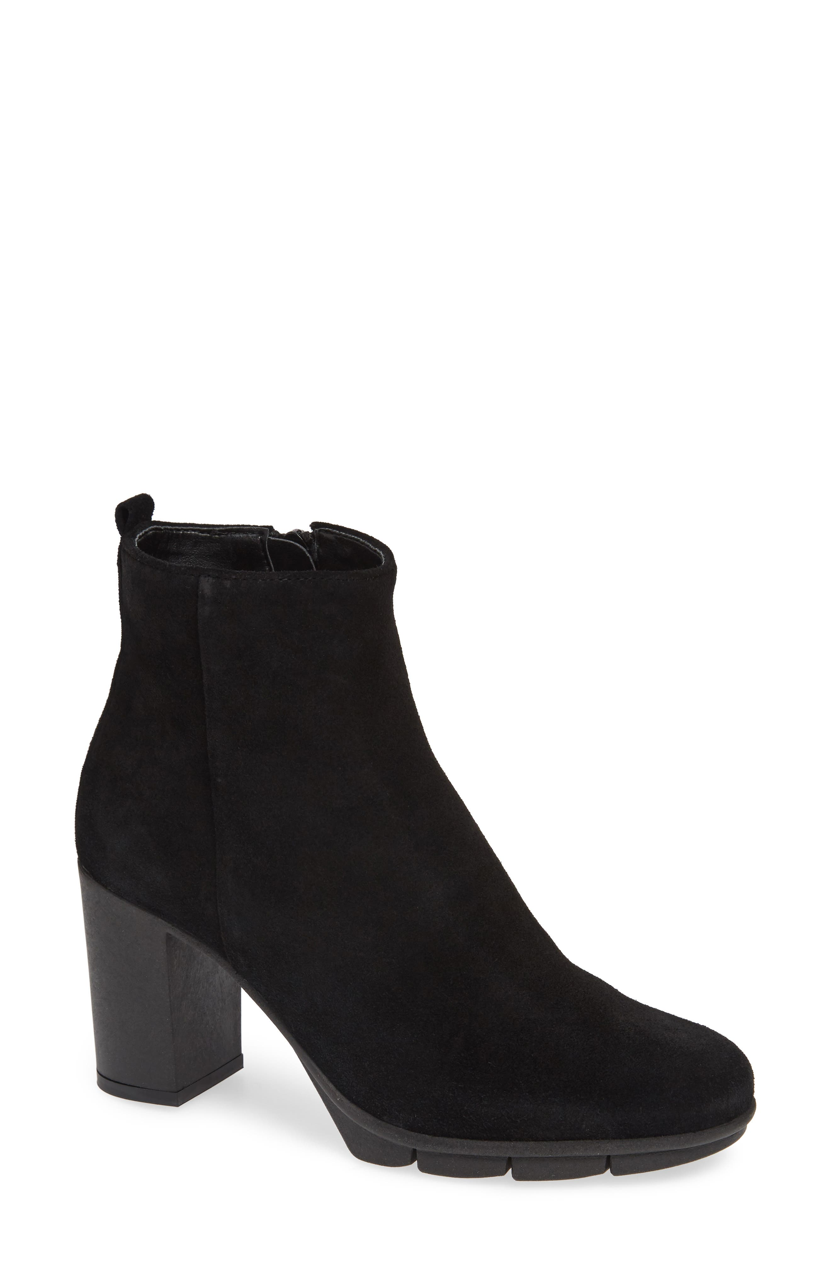 The Flexx Citi Fied Zip Bootie, Black